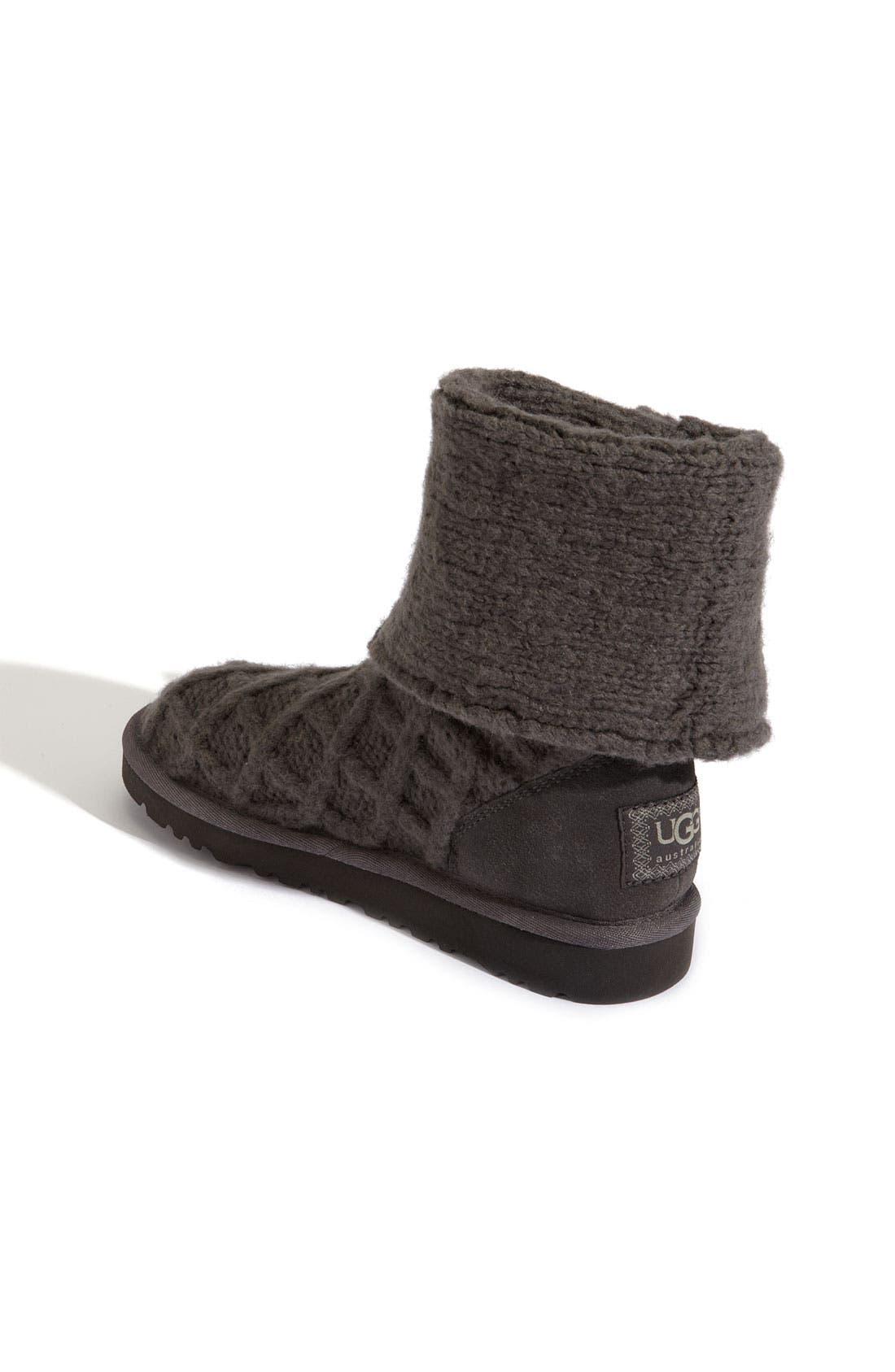 Alternate Image 2  - UGG® Australia 'Lattice Cardy' Boot (Toddler, Little Kid & Big Kid)