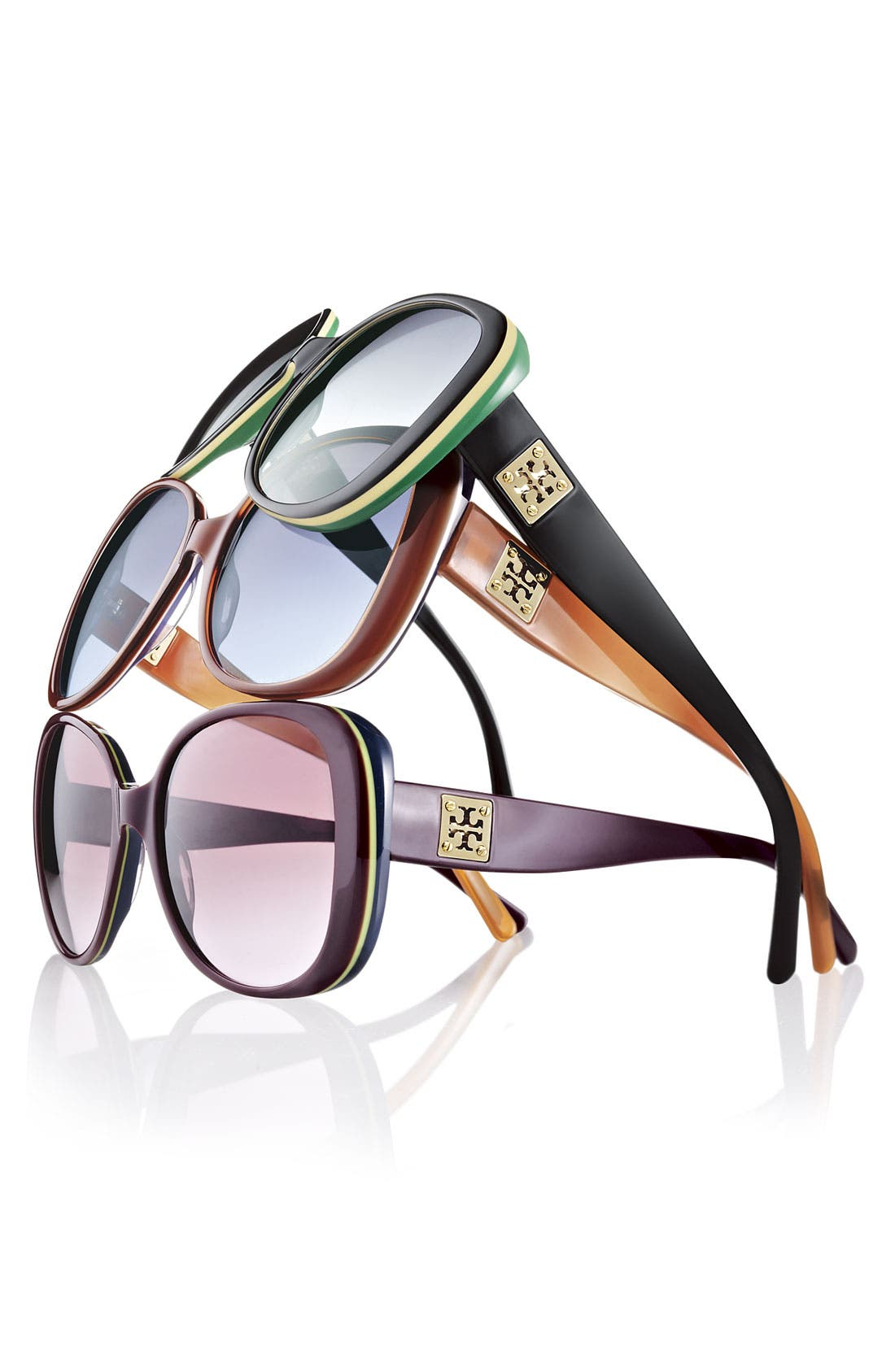 Alternate Image 3  - Tory Burch 57mm Sunglasses