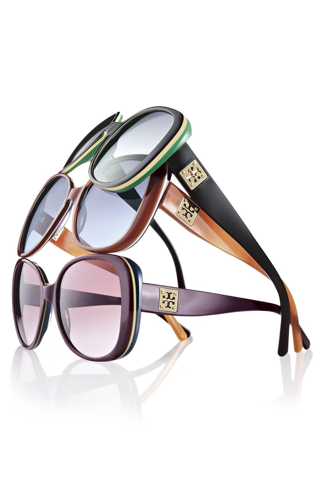 Alternate Image 3  - Tory Burch 57mm Sunglasses