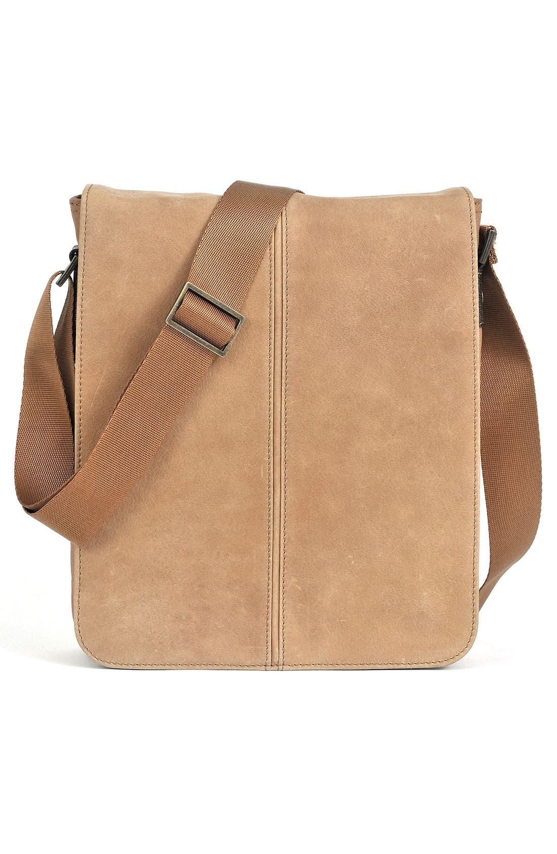 Alternate Image 3  - Boconi 'Leon Mailbag' Calfskin Leather Crossbody Bag