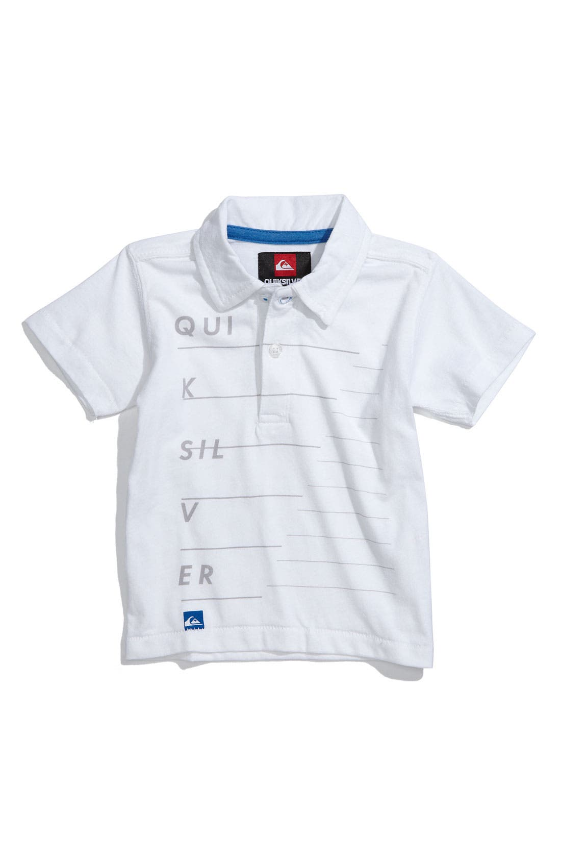 Main Image - Quiksilver 'Redial' Polo (Toddler)