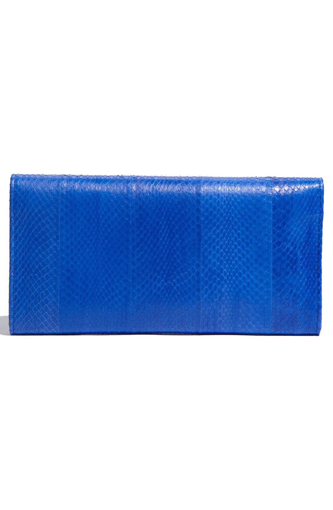 Alternate Image 4  - Jimmy Choo 'Reese' Embossed Leather Clutch