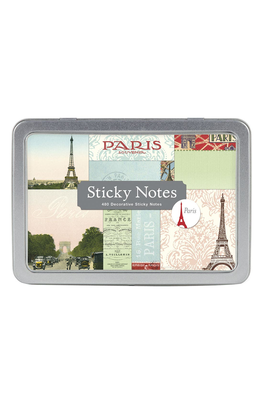 Alternate Image 1 Selected - Cavallini & Co. 'Paris' Sticky Notes (Set of 8)