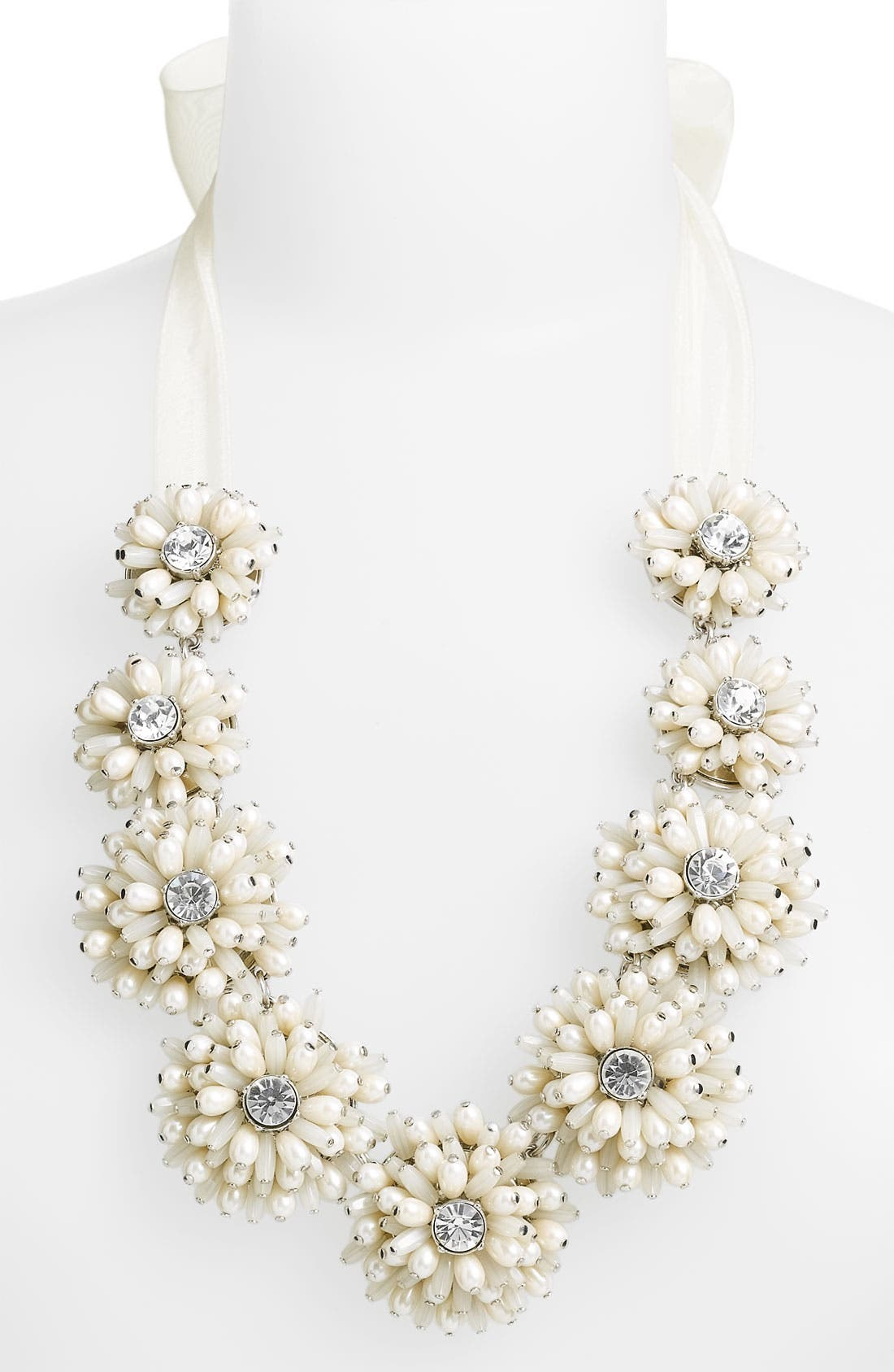 Alternate Image 1 Selected - kate spade new york 'gerbera garden' floral necklace