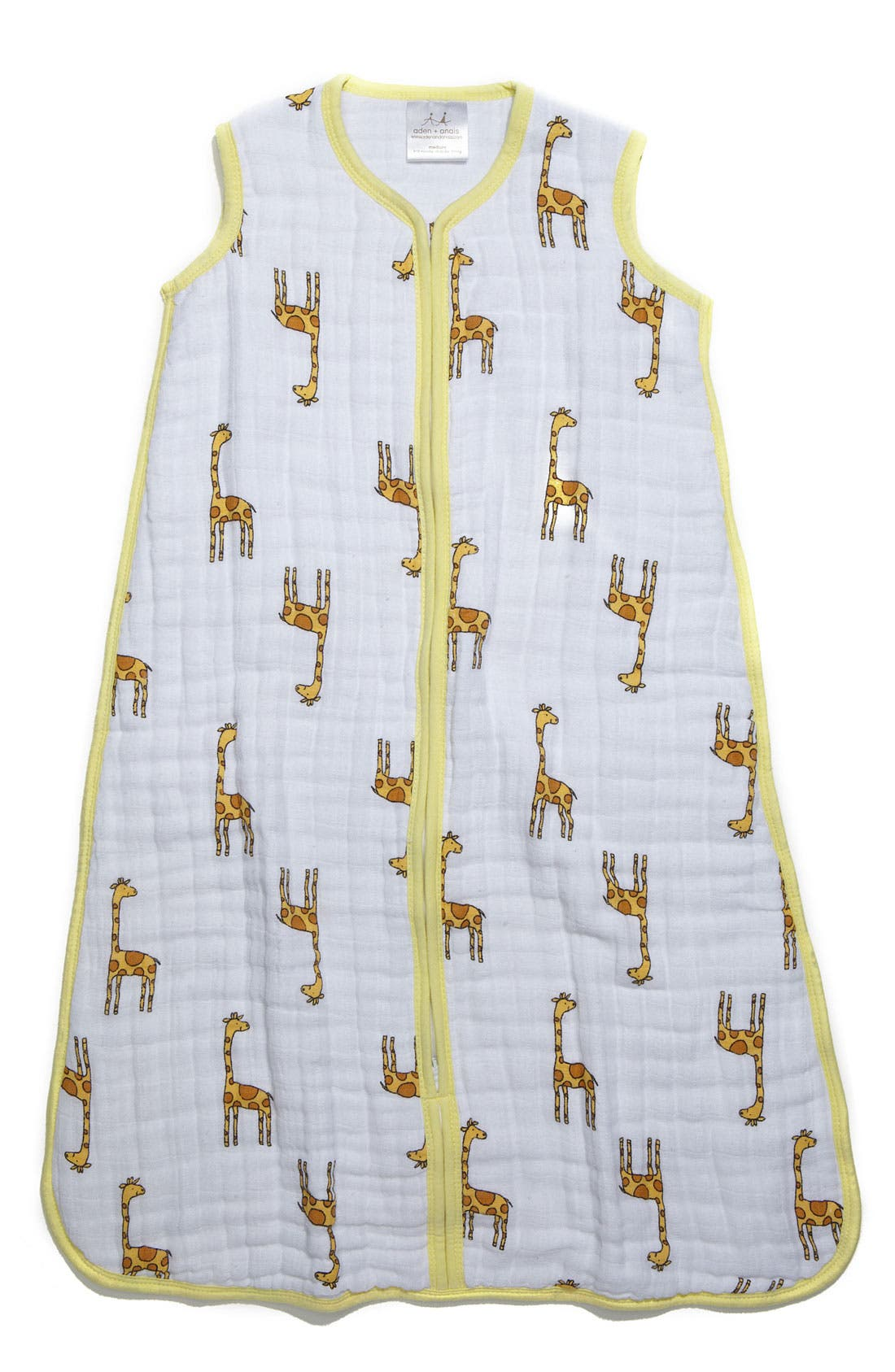 Alternate Image 1 Selected - aden + anais 'Cozy Sleeping Bag' Wearable Blanket (Baby)