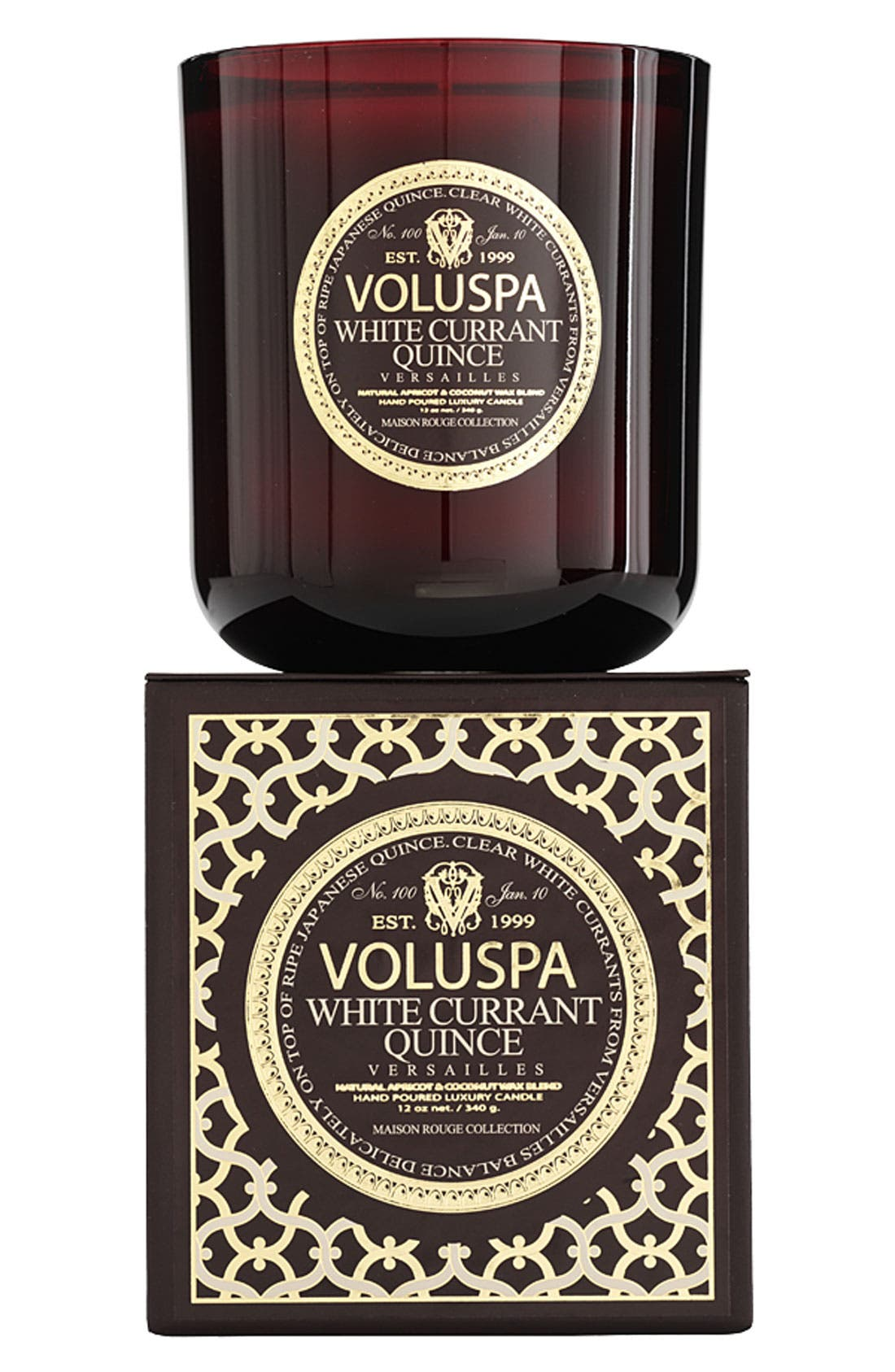 Main Image - Voluspa 'Maison Rouge - White Currant Quince' Scented Candle