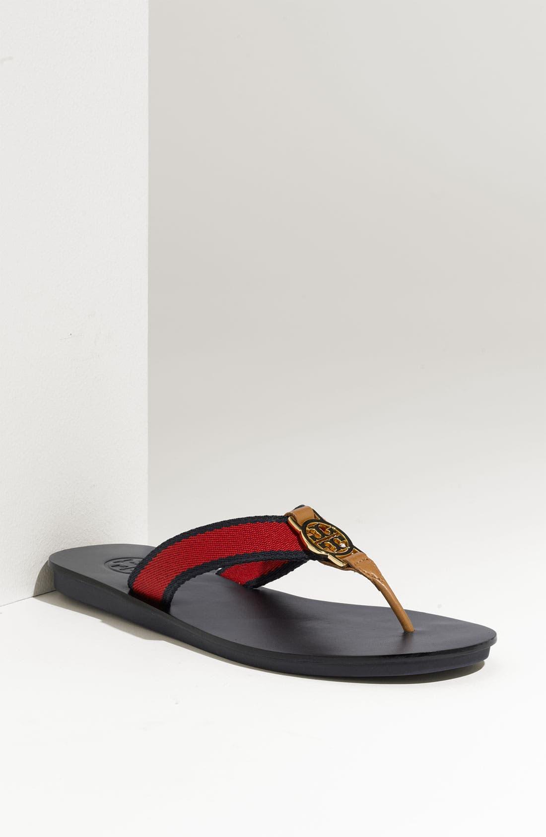 Alternate Image 1 Selected - Tory Burch 'Lise' Thong Sandal