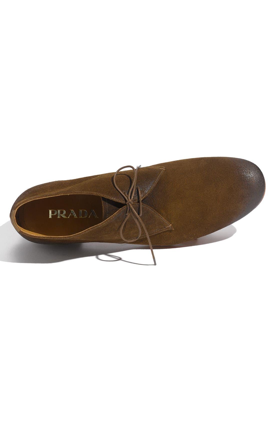 Alternate Image 3  - Prada Plain Toe Chukka