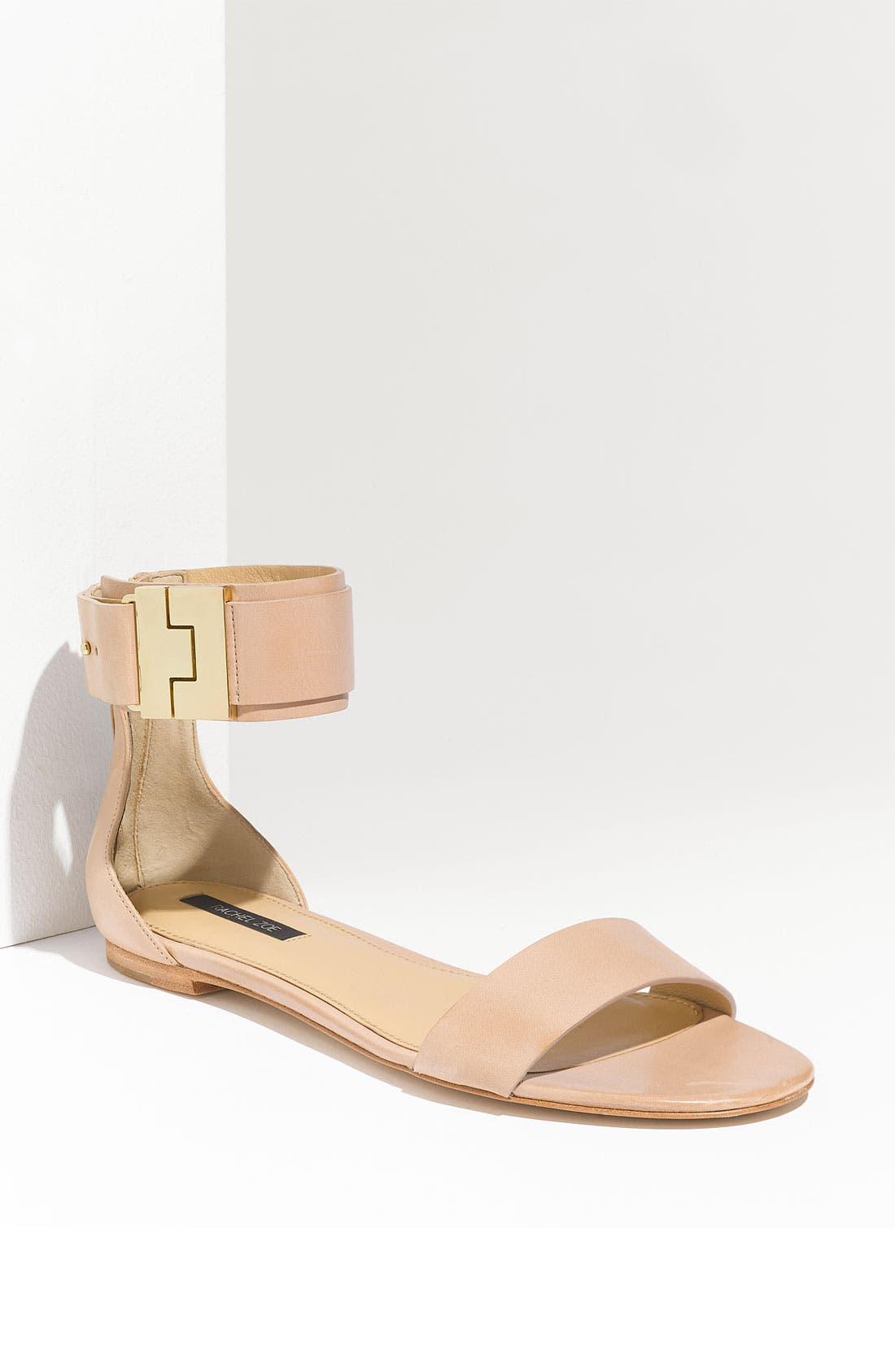 Alternate Image 1 Selected - Rachel Zoe 'Gladys' Flat Sandal
