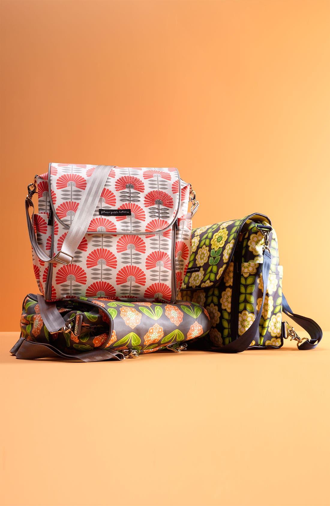 Alternate Image 4  - Petunia Pickle Bottom 'Boxy Glazed' Diaper Bag