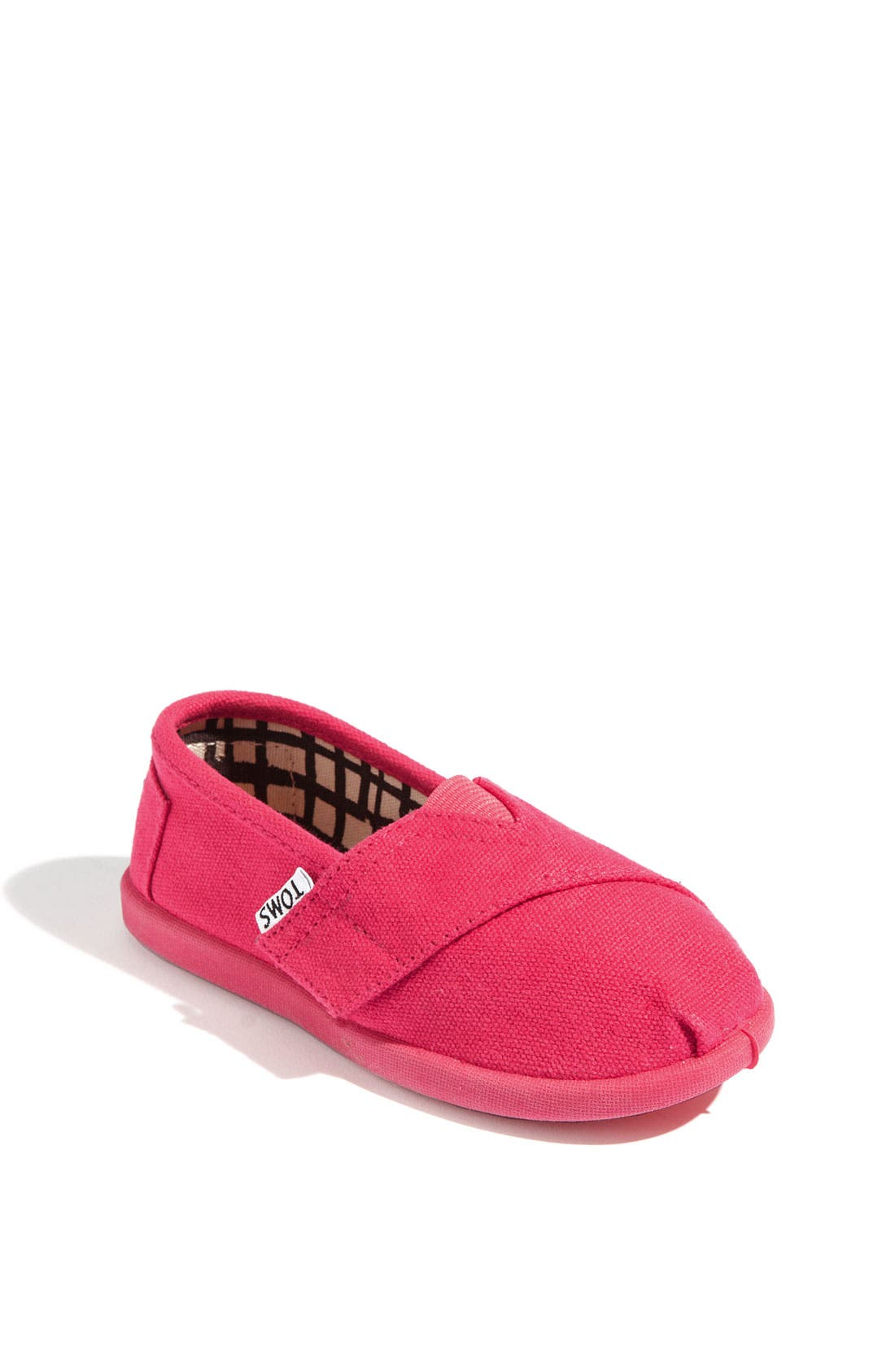 Main Image - TOMS 'Classic - Tiny' Canvas Slip-On (Baby, Walker & Toddler)