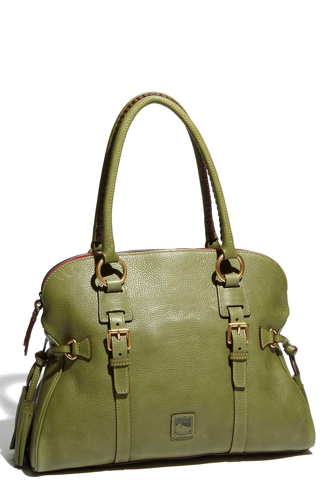 Alternate Image 1 Selected - Dooney & Bourke 'Florentine Collection' Domed Leather Buckle Satchel