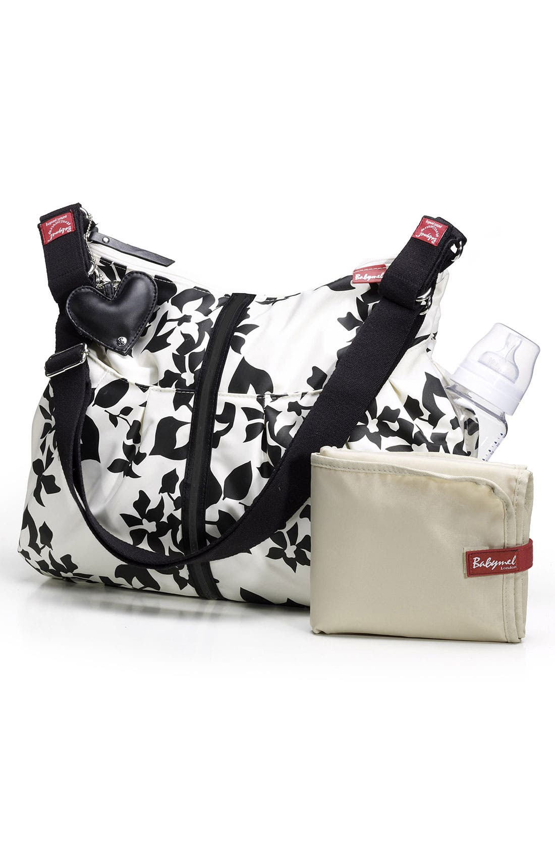 Alternate Image 2  - Babymel 'Amanda Modern' Floral Diaper Bag