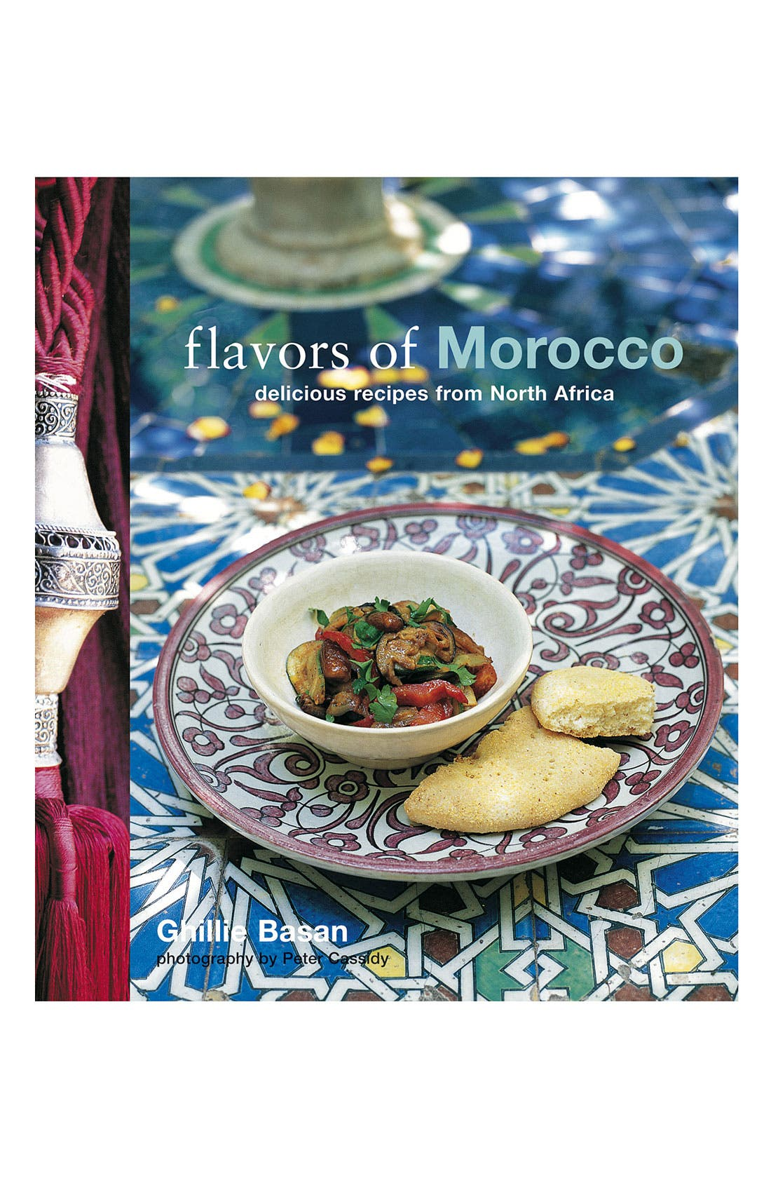 Alternate Image 1 Selected - Ghillie Basan 'Flavors of Morocco' Cookbook