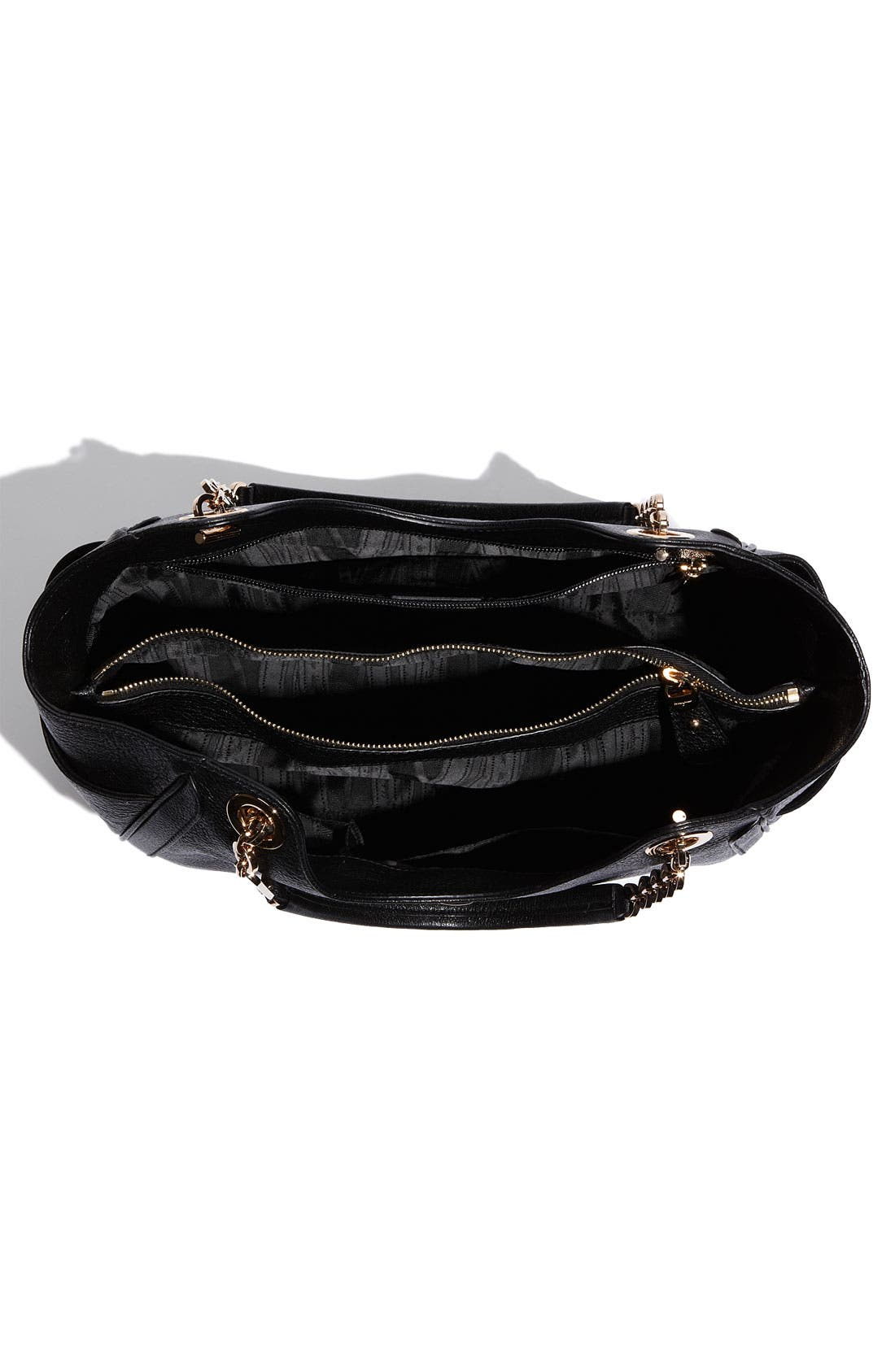 Alternate Image 3  - Salvatore Ferragamo 'Betulla Chain' Leather Shopper