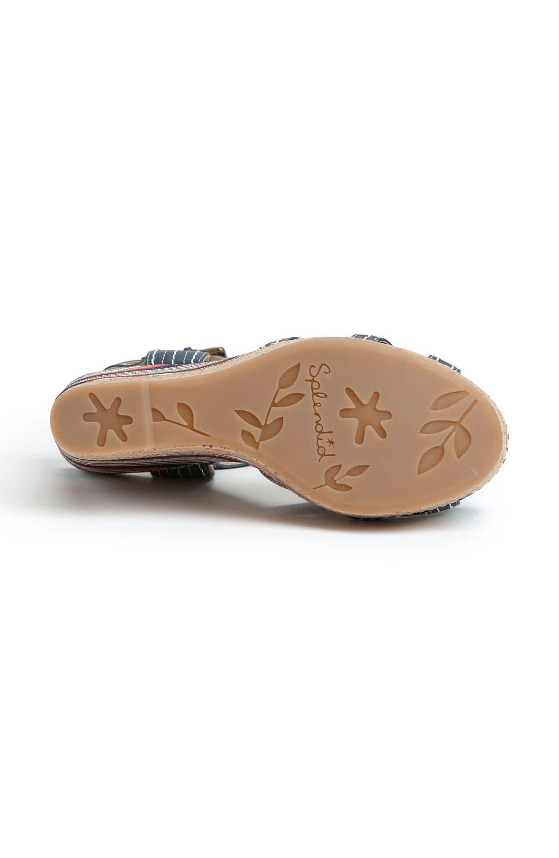 Alternate Image 4  - Splendid 'Kayla' Wedge Sandal