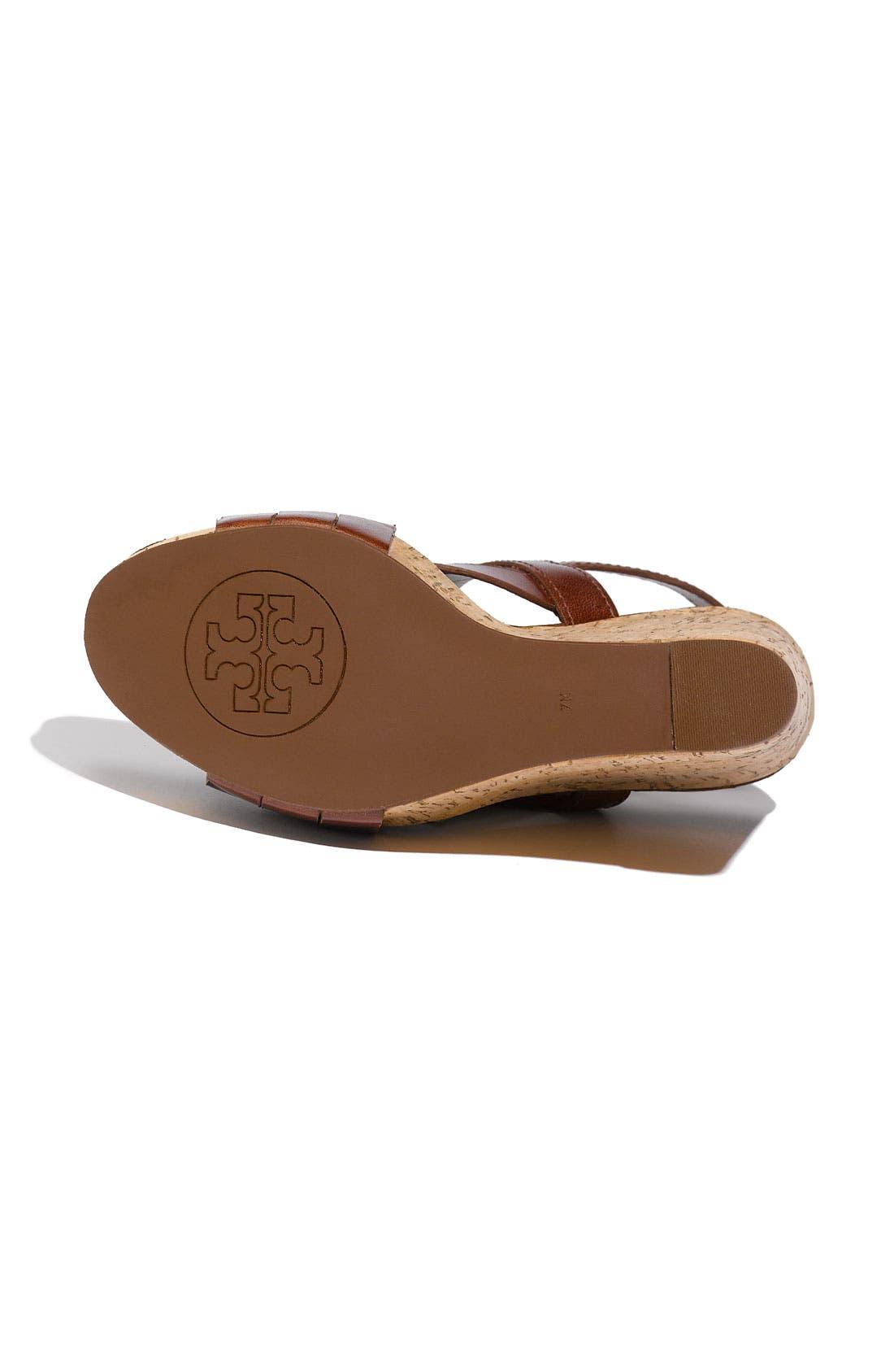 Alternate Image 4  - Tory Burch 'Ace' Wedge Sandal