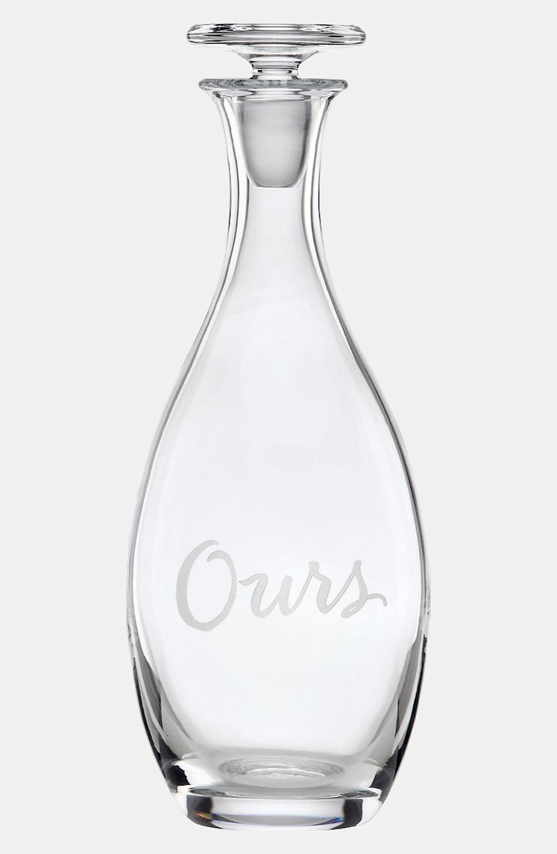 Alternate Image 1 Selected - kate spade new york 'two of a kind - ours' decanter