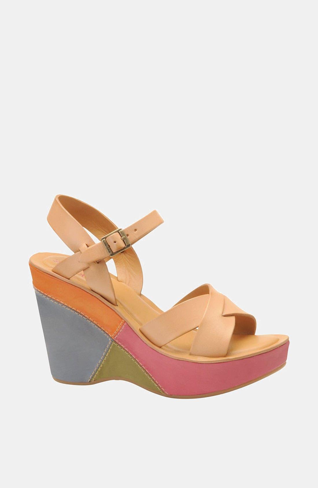Main Image - Kork-Ease 'Bette' Wedge Sandal