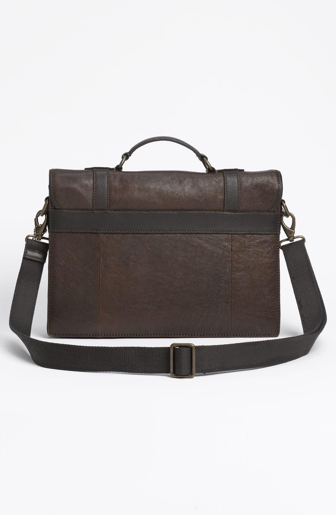 Alternate Image 2  - Fossil 'Estate' Leather Portfolio Briefcase