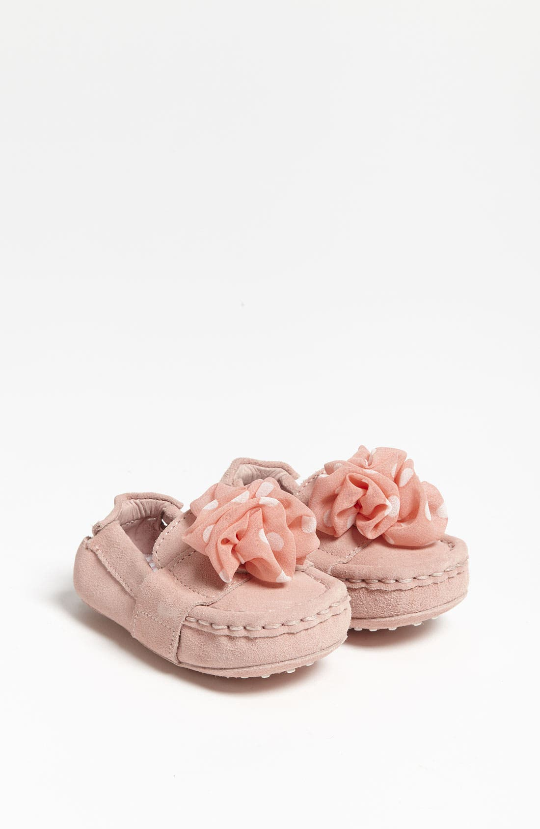 Alternate Image 1 Selected - Cole Haan 'Mini Penny Two Fleur' Slip-On (Baby)