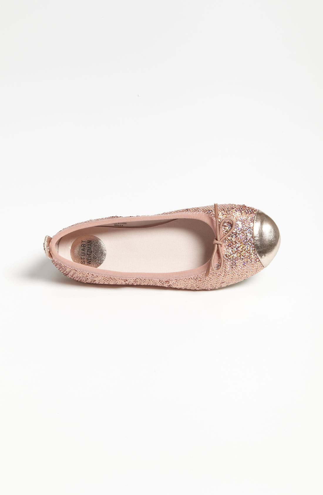 Alternate Image 3  - Stuart Weitzman 'Bunny-X' Flat (Toddler, Little Kid & Big Kid)