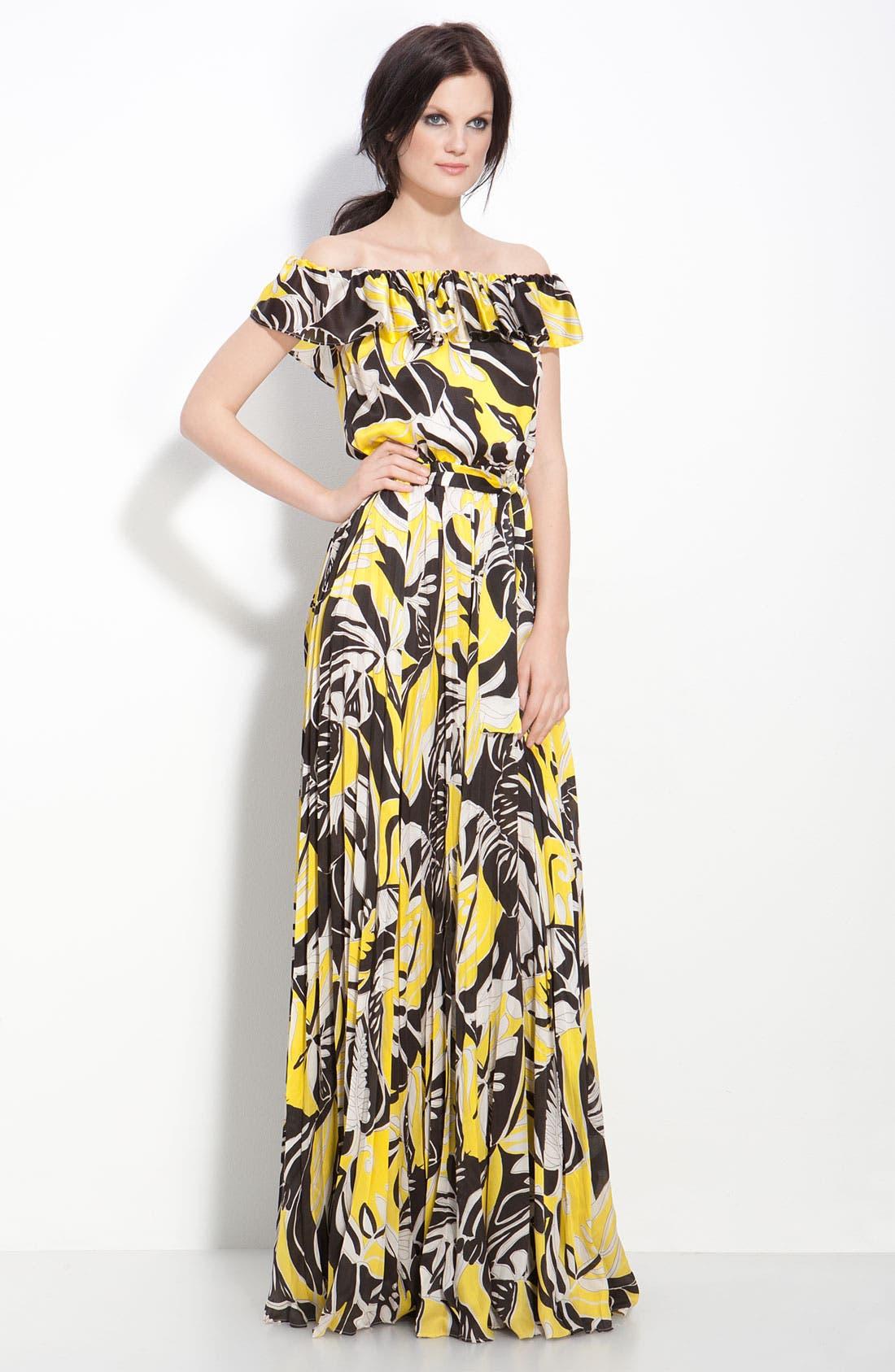 Main Image - Rachel Zoe 'Kendal' Off Shoulder Gown