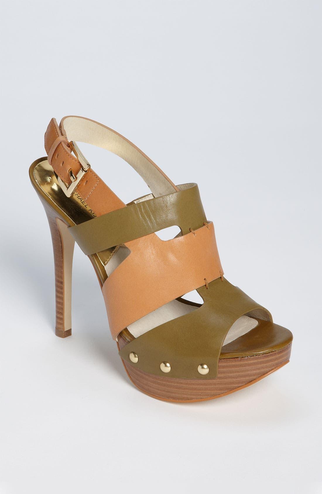 Main Image - MICHAEL Michael Kors 'Seville' Platform Sandal