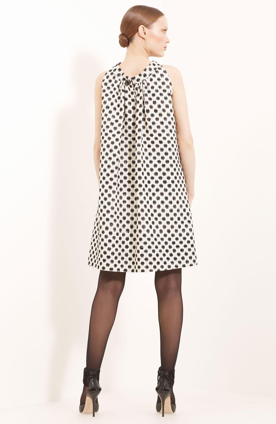Alternate Image 3  - Oscar de la Renta Trapeze Silk Tweed Dress