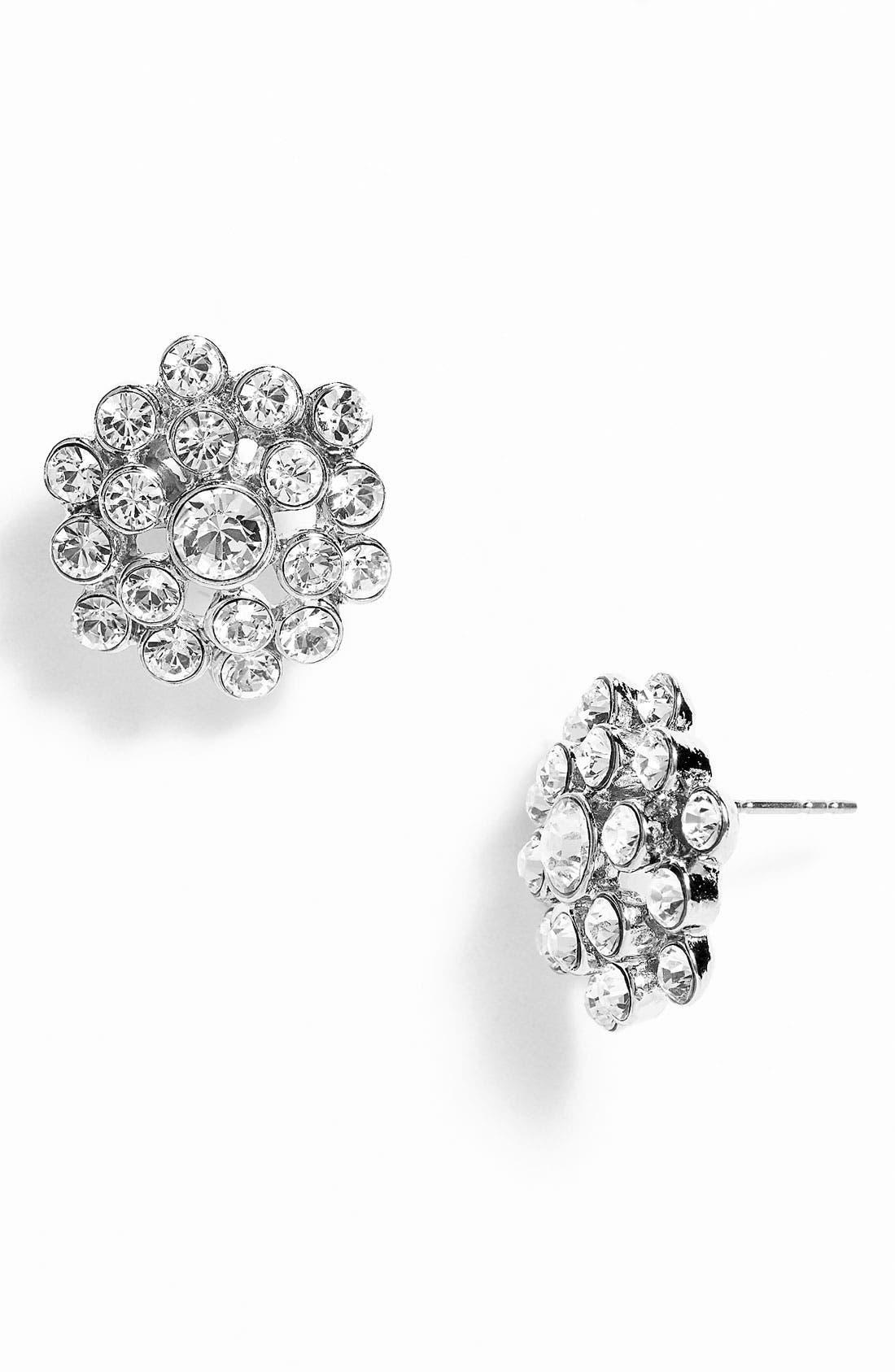 Alternate Image 1 Selected - Nina 'Marseill' Round Cluster Stud Earrings