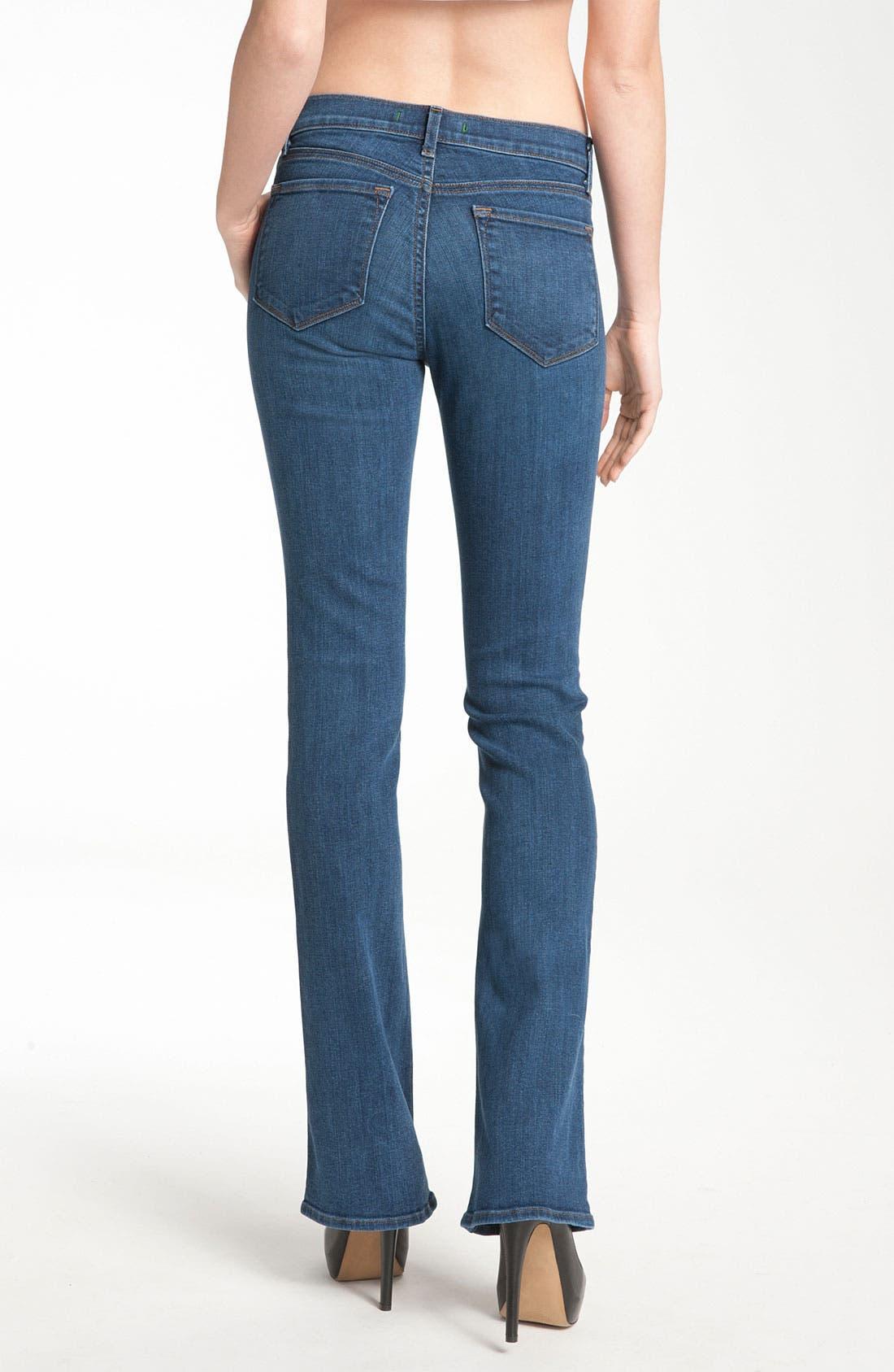 Alternate Image 3  - J Brand 'Janey' Super Slim Bootcut Jeans (Bluebell Wash)
