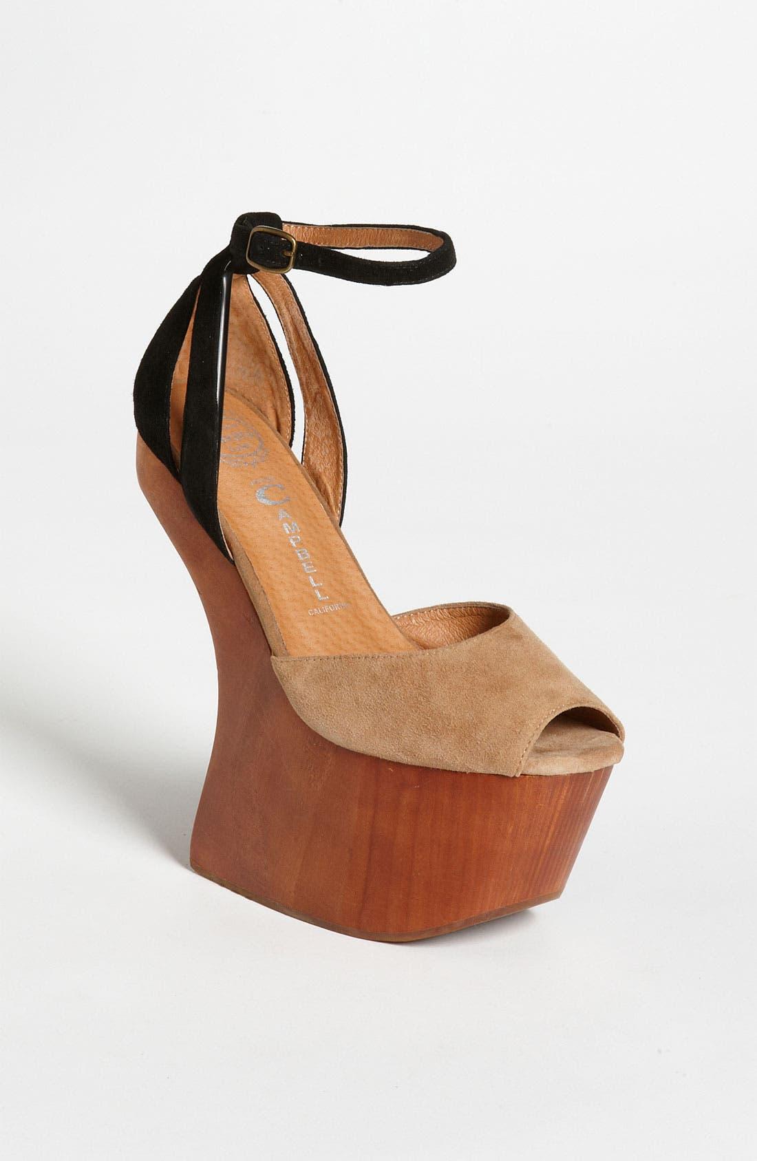 Alternate Image 1 Selected - Jeffrey Campbell 'Str8up' Sandal