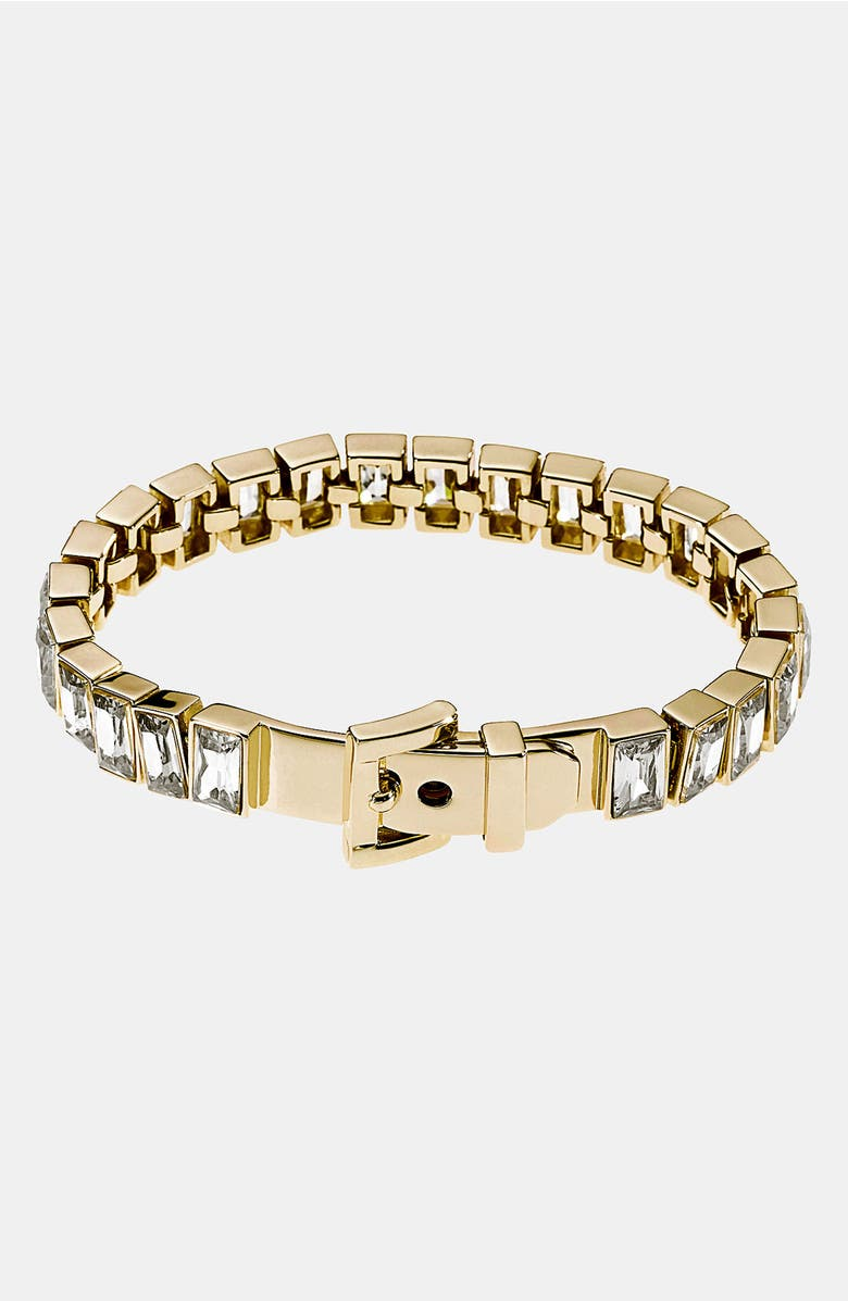 Michael Kors Square Cubic Zirconia Tennis Bracelet Main