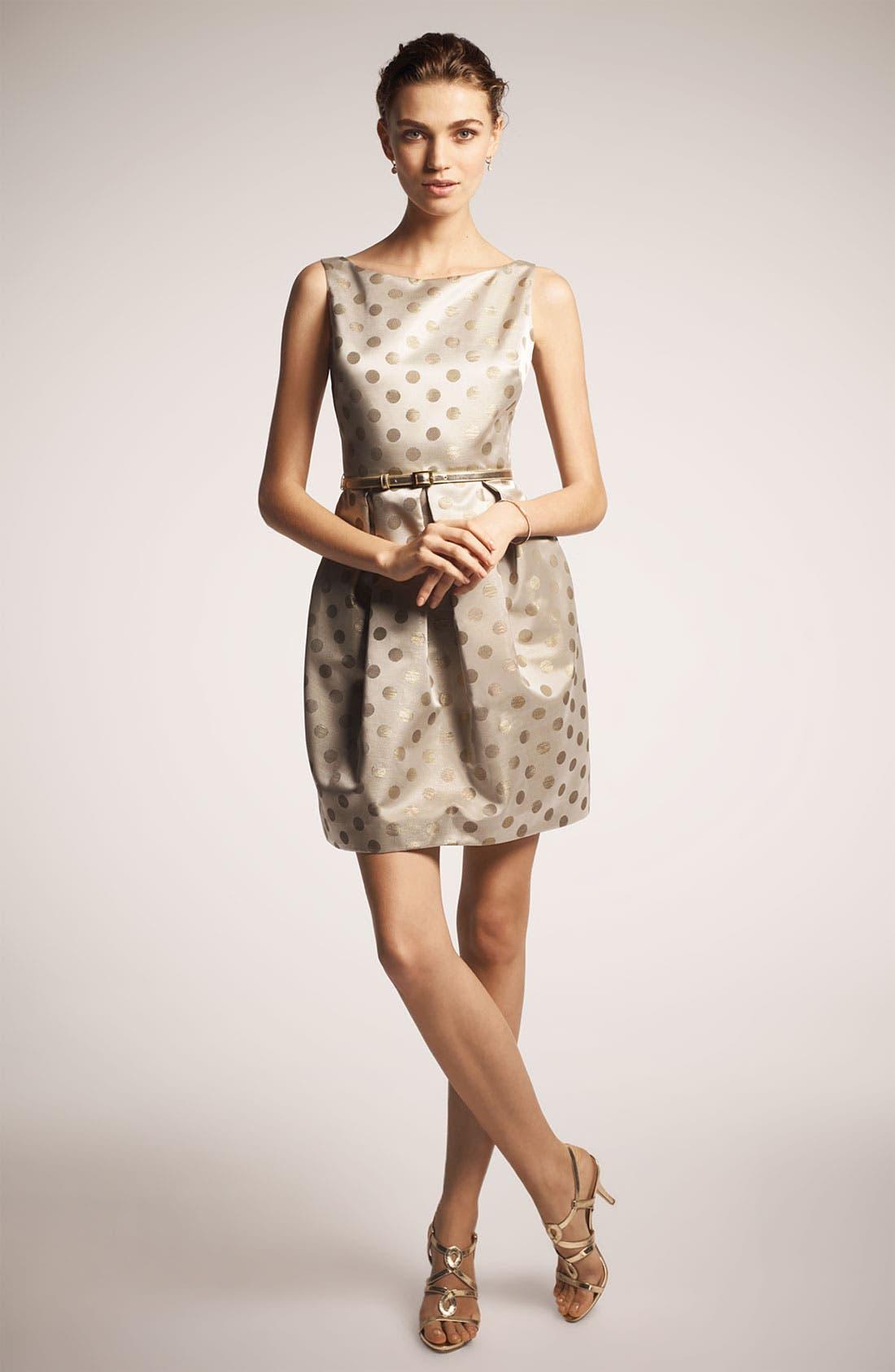 Alternate Image 4  - Eliza J Belted Satin Dress