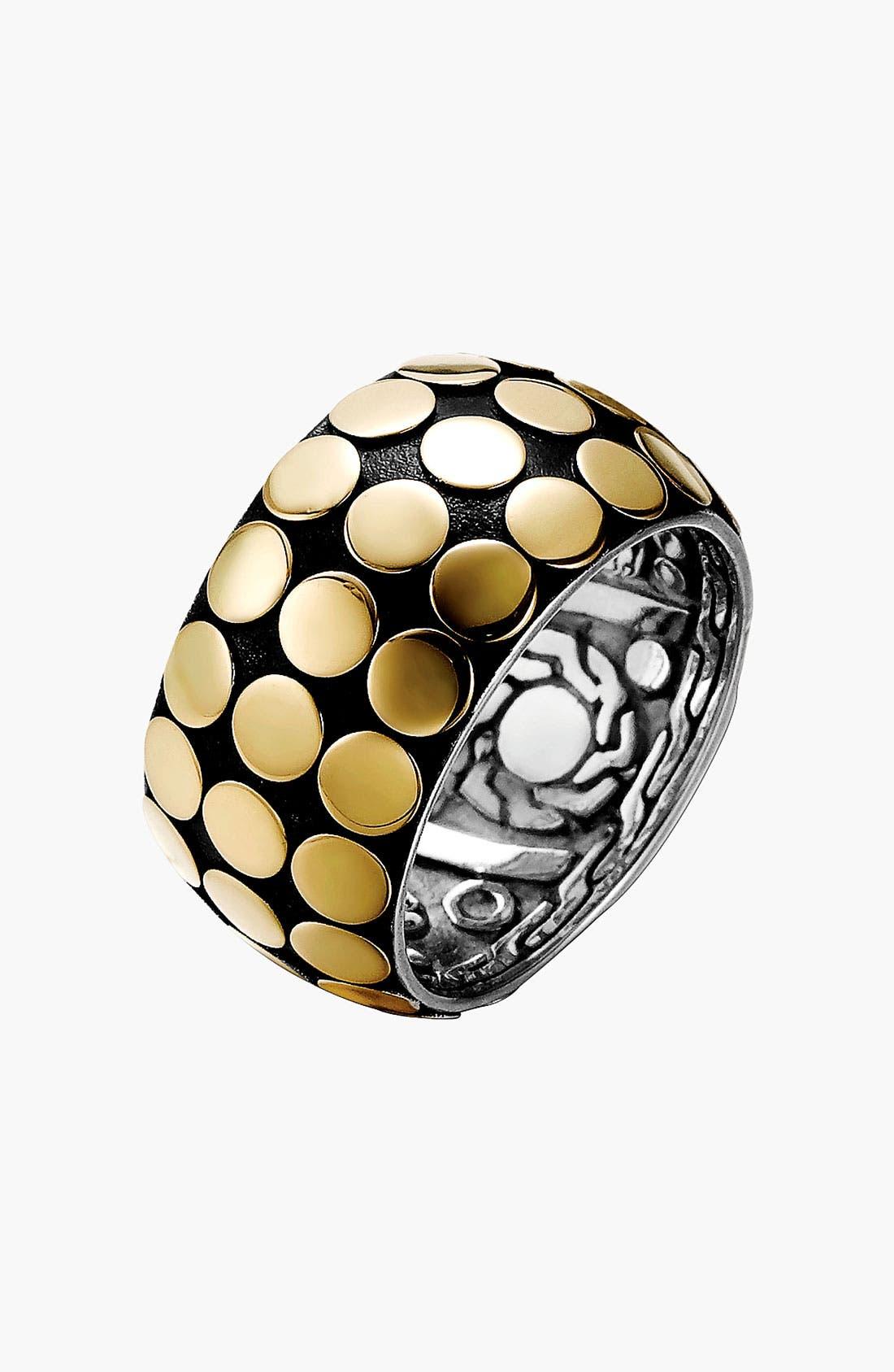 Alternate Image 1 Selected - John Hardy 'Dot Gold & Silver' Ring