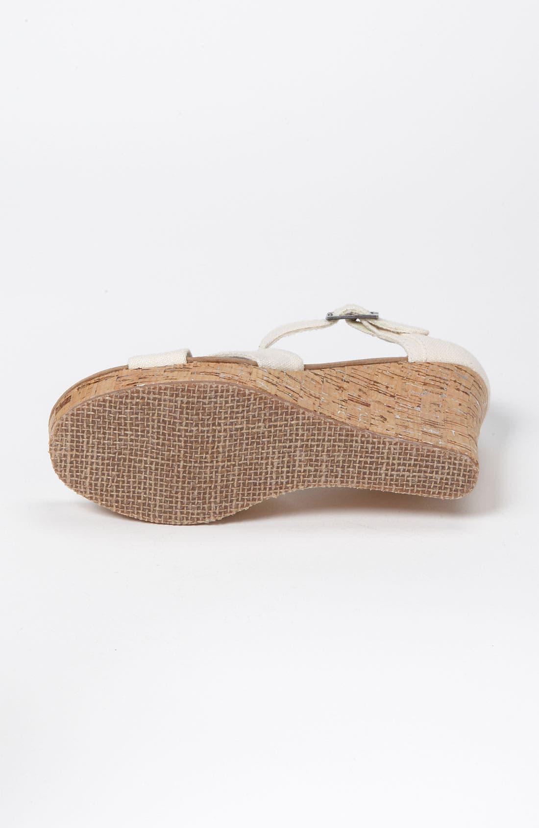 Alternate Image 4  - TOMS Linen Sandal