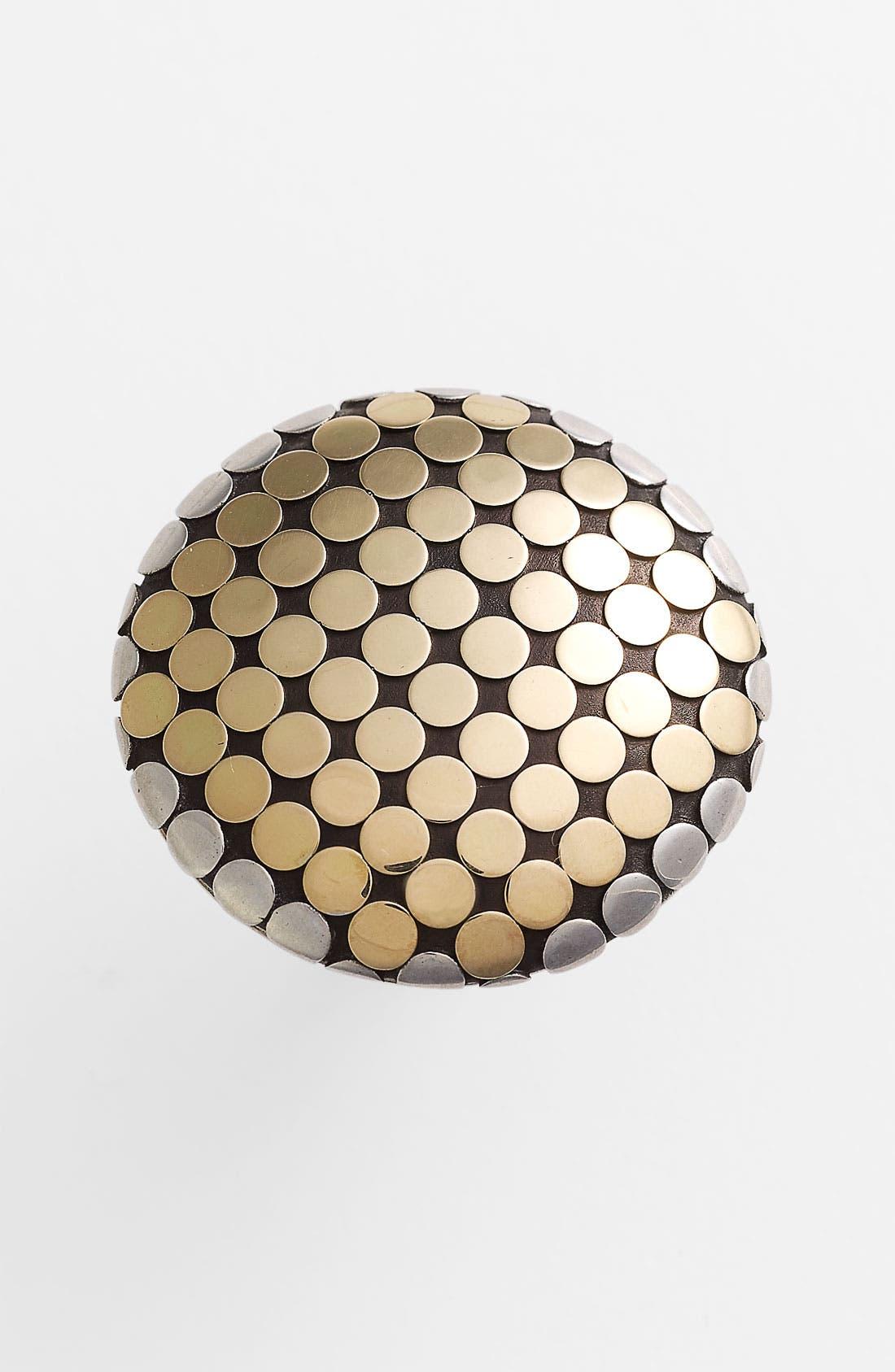 Alternate Image 1 Selected - John Hardy 'Dot Gold & Silver' Round Ring