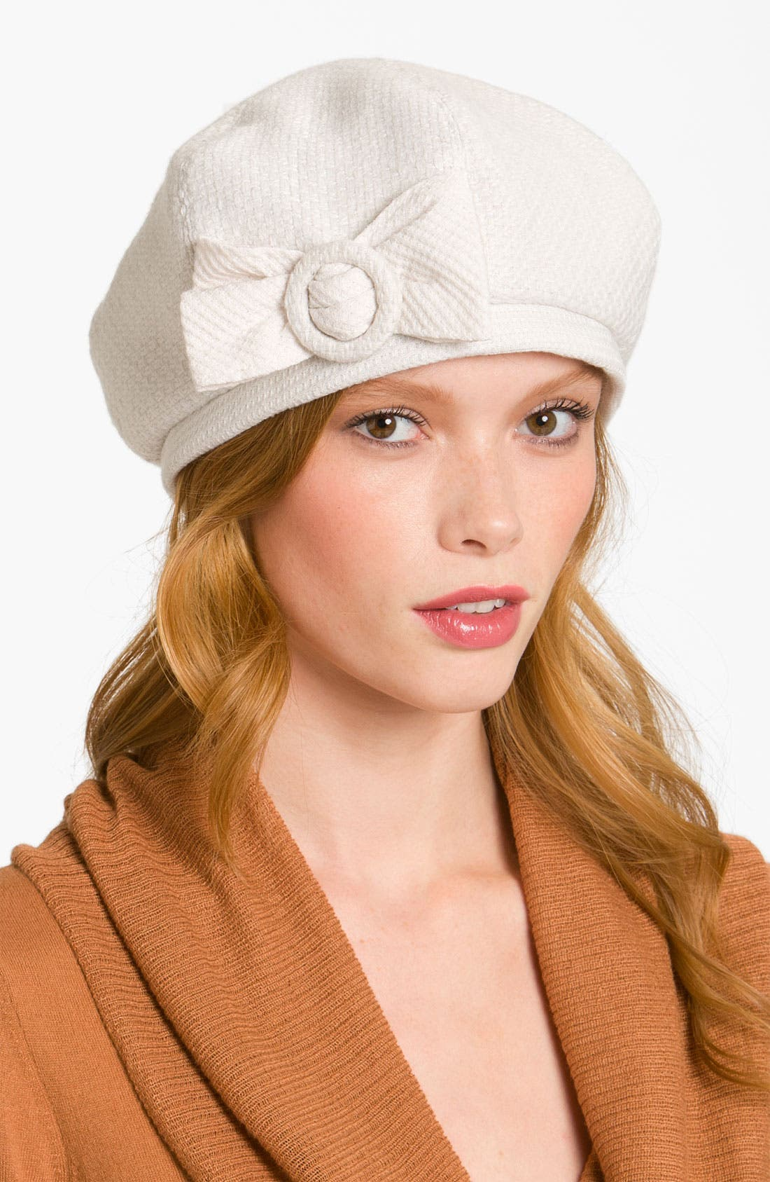 Alternate Image 1 Selected - Halogen® 'Bow' Beret