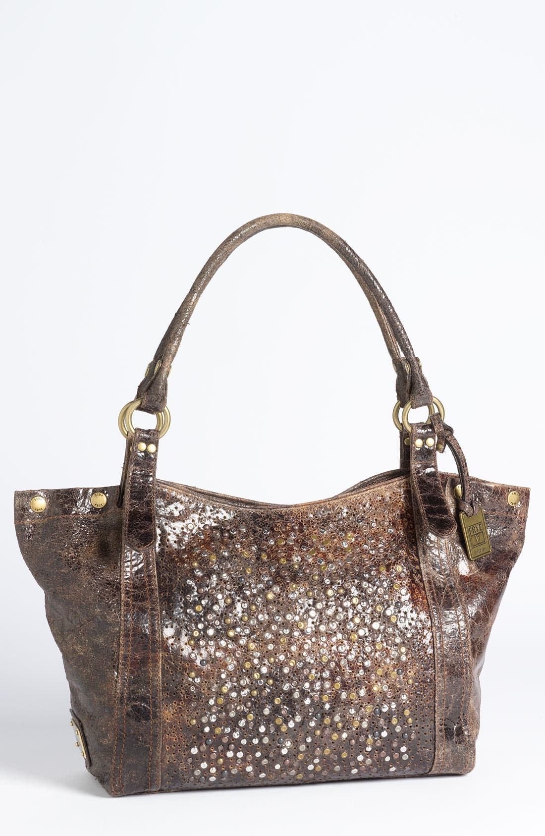 'Deborah' Tote,                         Main,                         color, Chocolate