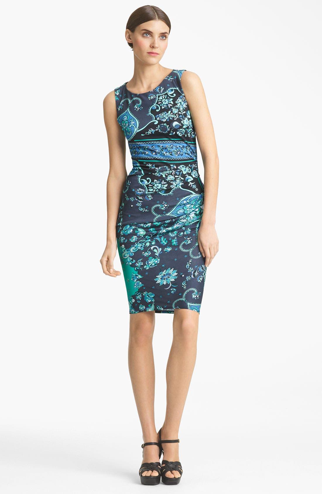 Alternate Image 1 Selected - Emilio Pucci Silk Jersey Pencil Dress