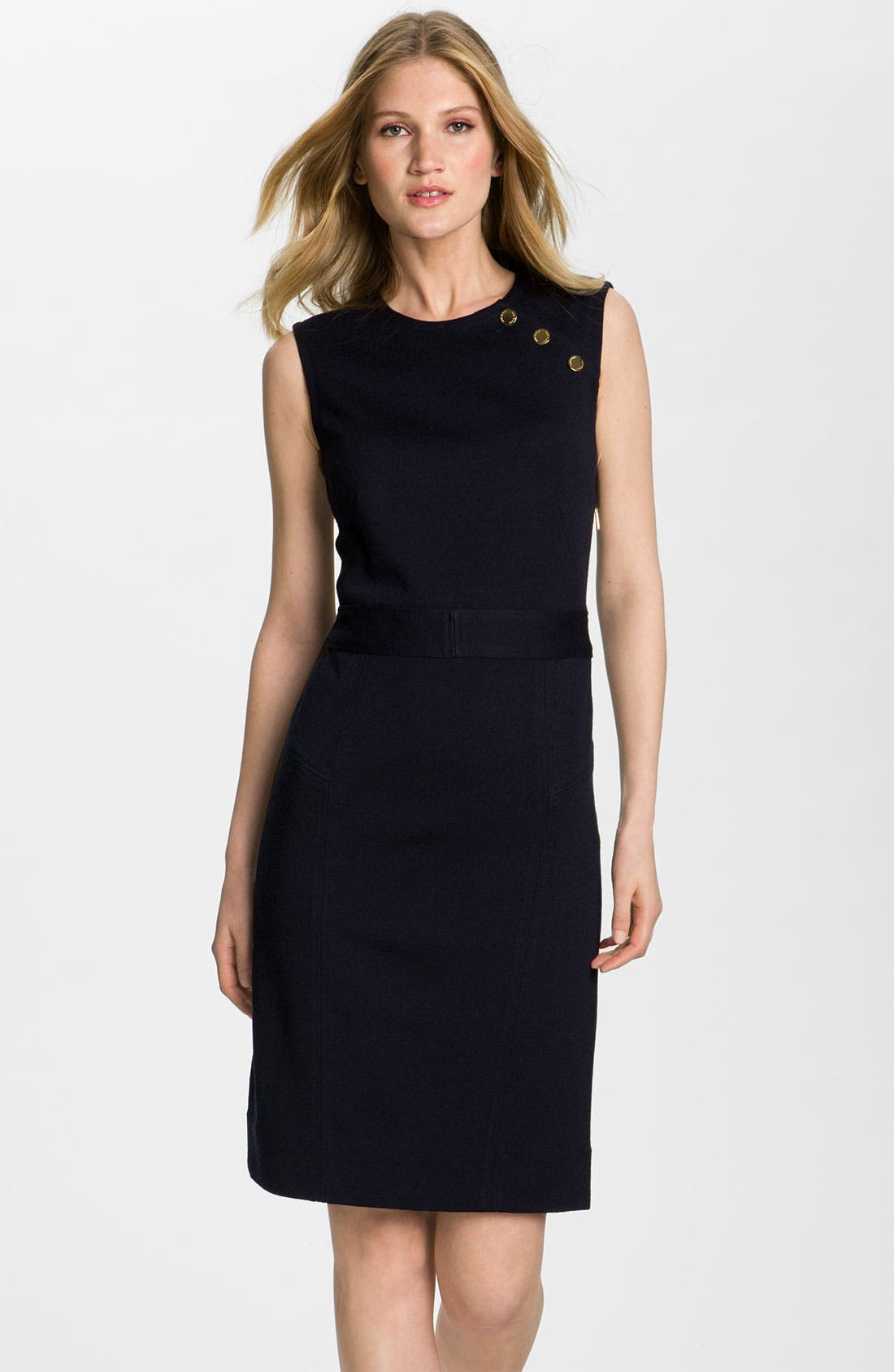 Alternate Image 1 Selected - Tory Burch 'Beverly' Sheath Sweater Dress