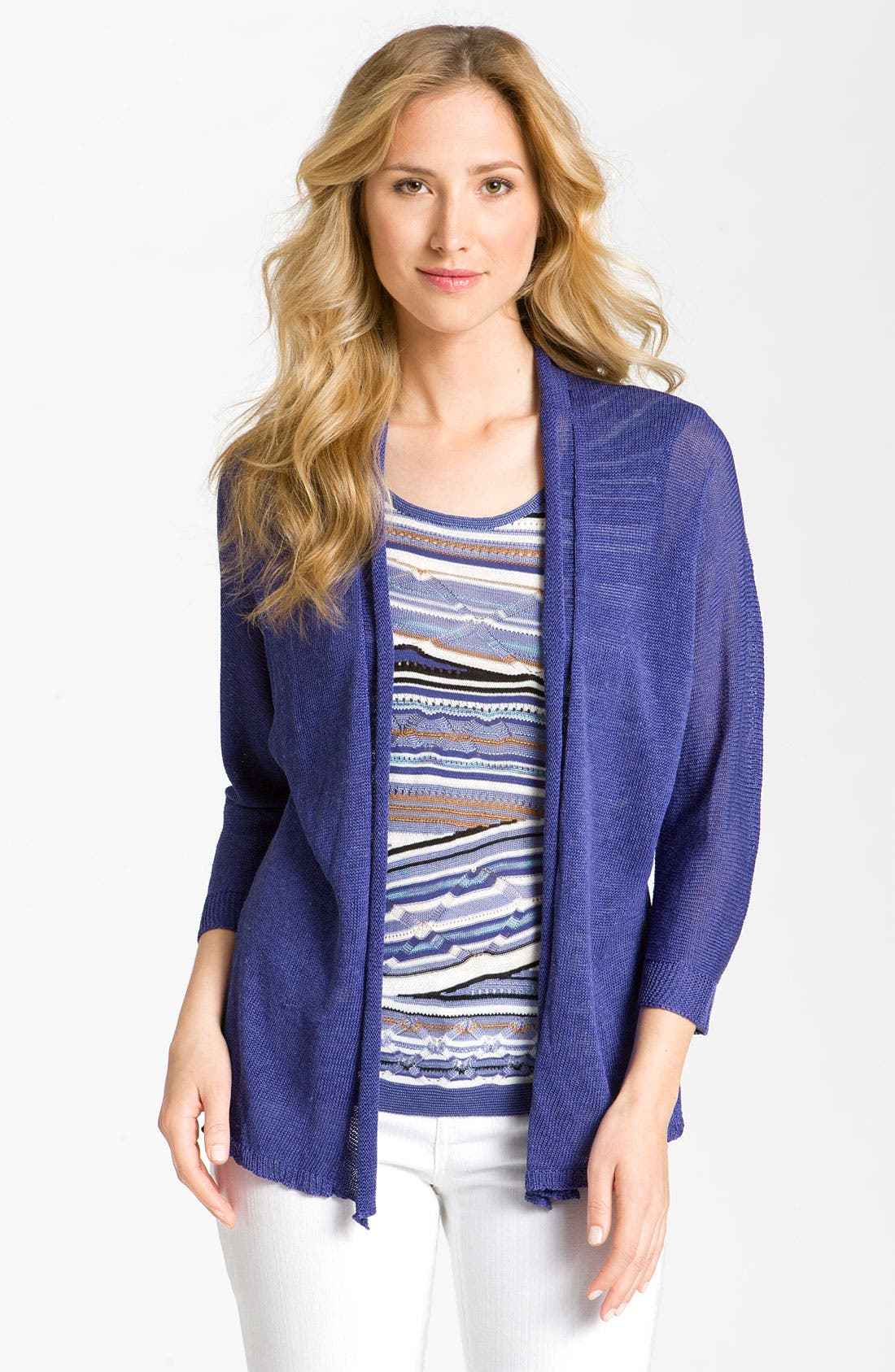 Alternate Image 1 Selected - Nic + Zoe Dolman Sleeve Cardigan