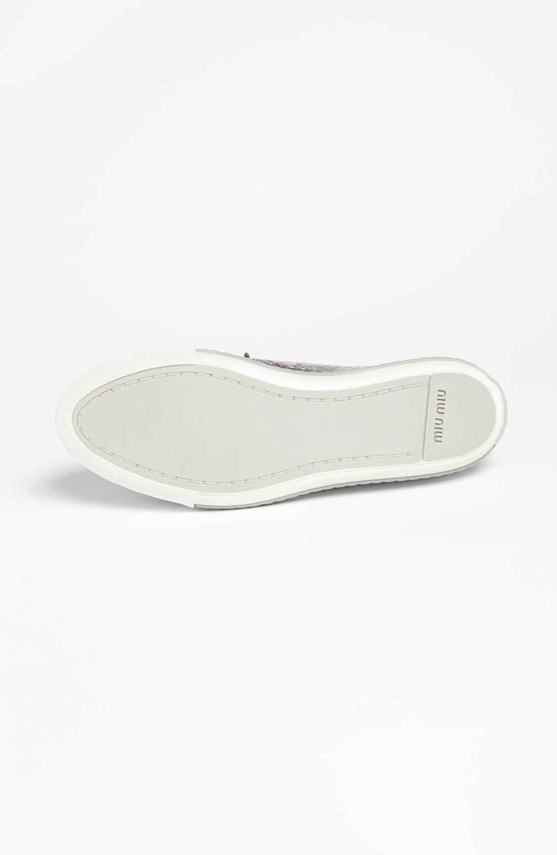 Alternate Image 4  - Miu Miu Sneaker
