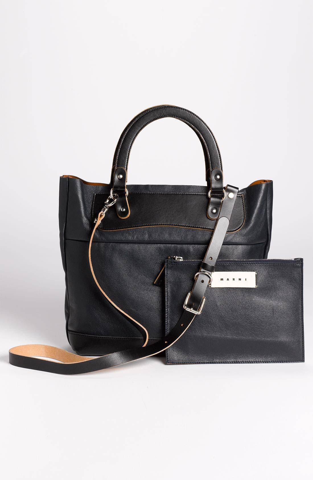 Alternate Image 4  - Marni Leather Crossbody Bag