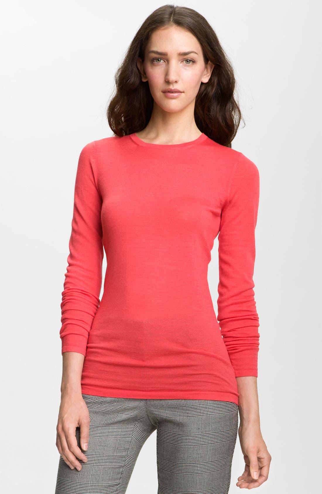 Main Image - Valette Refined Wool Crewneck Sweater