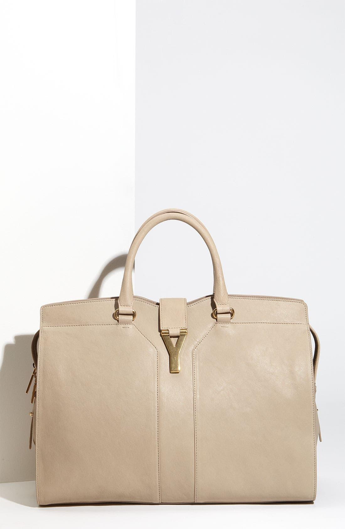 Main Image - Yves Saint Laurent 'Cabas Chyc - Large' Leather Satchel