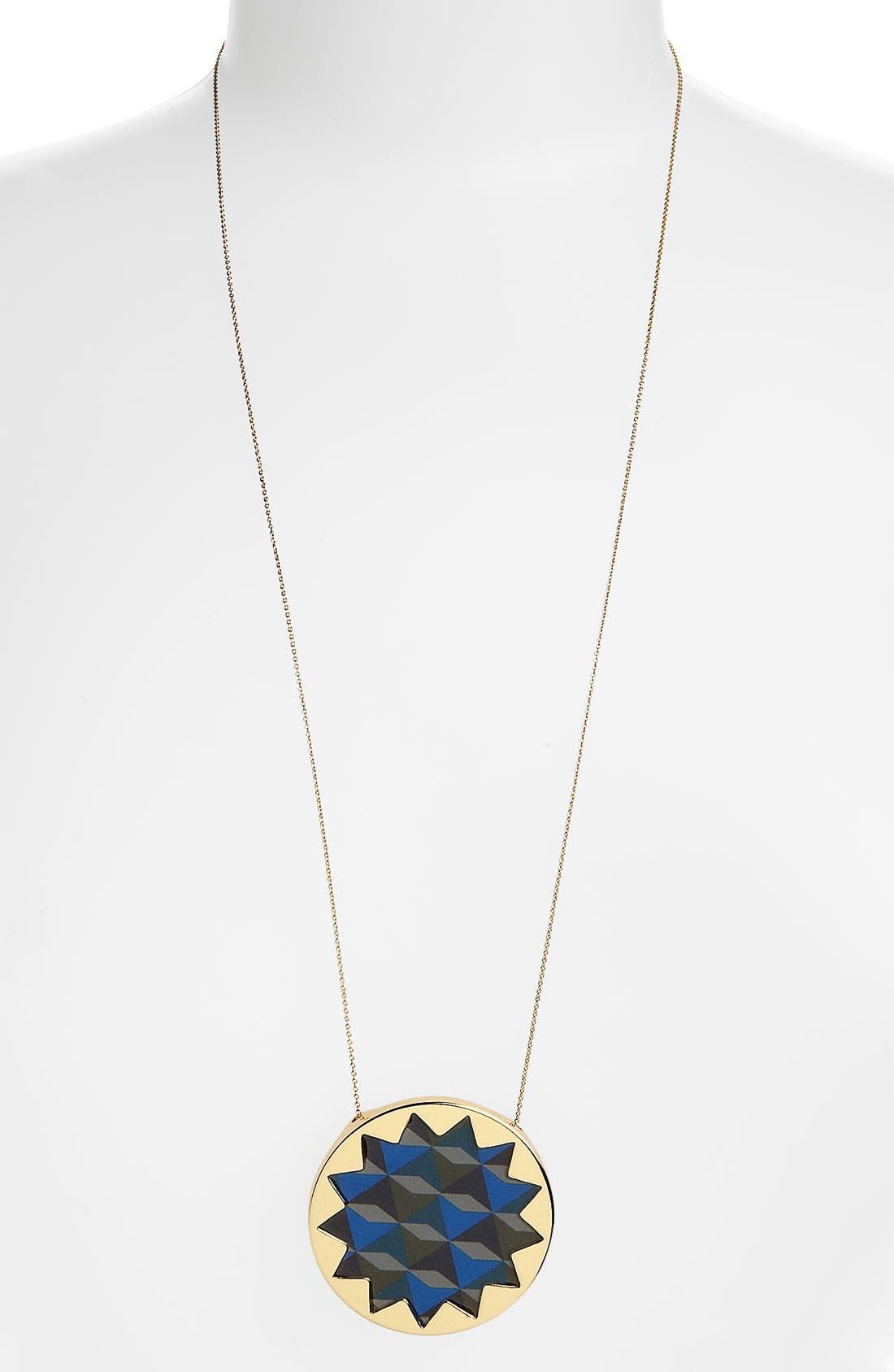 Sunburst Pendant,                         Main,                         color, Gold