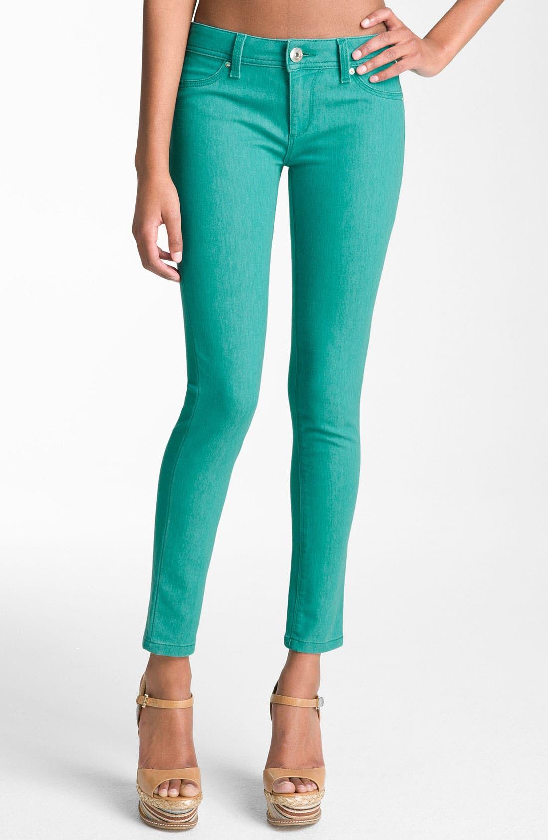 Main Image - DL1961 'Emma' Skinny Jeans (Seaglass)