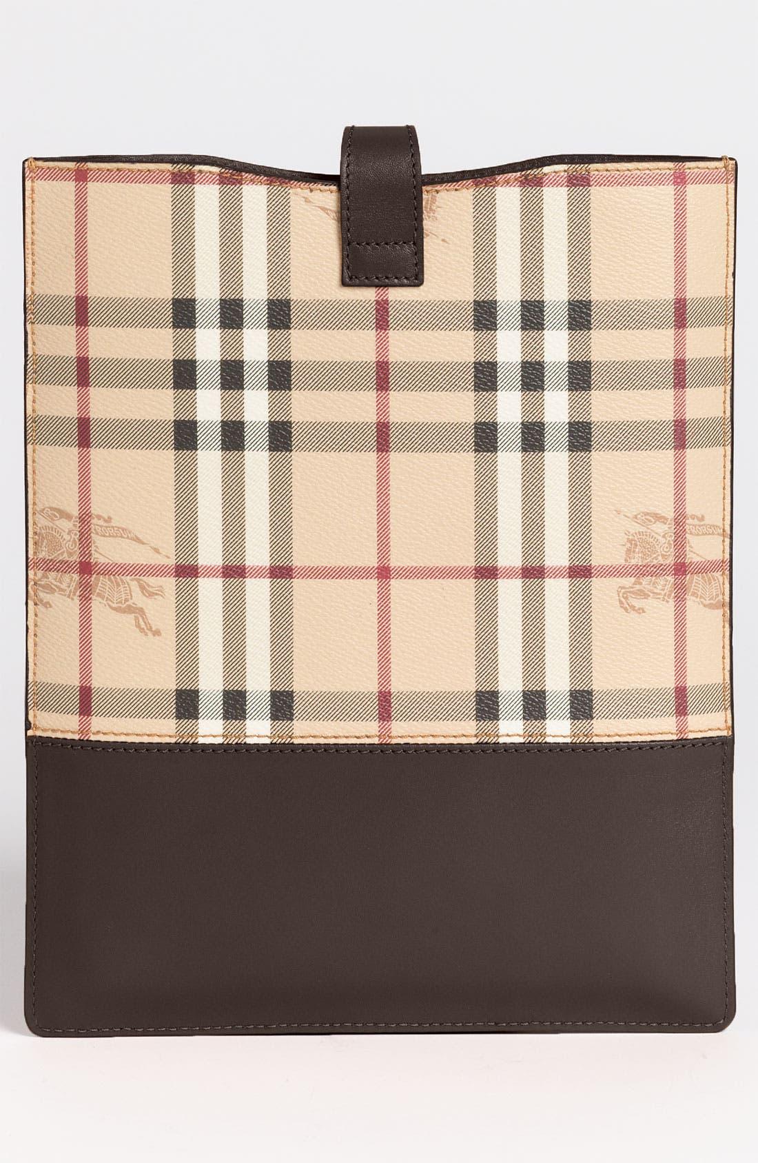 Alternate Image 4  - Burberry 'Haymarket Check' iPad Sleeve