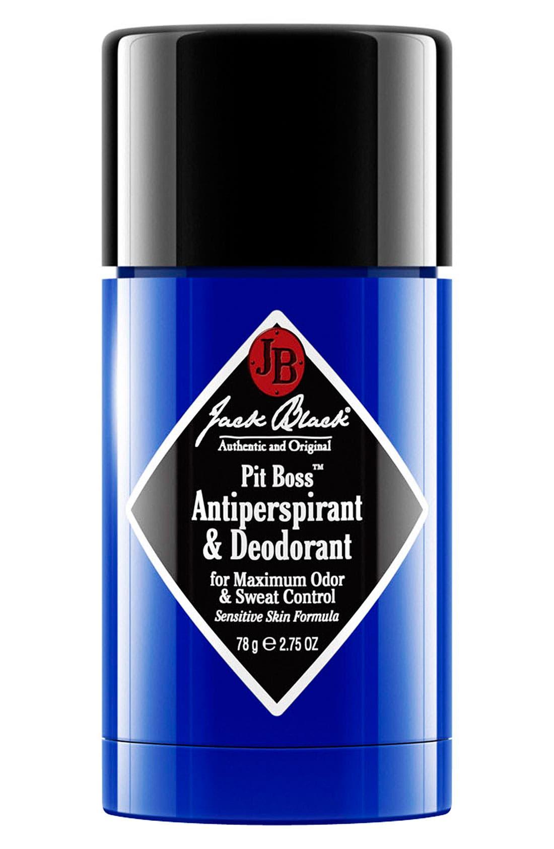 Jack Black 'Pit Boss' Antiperspirant & Deodorant